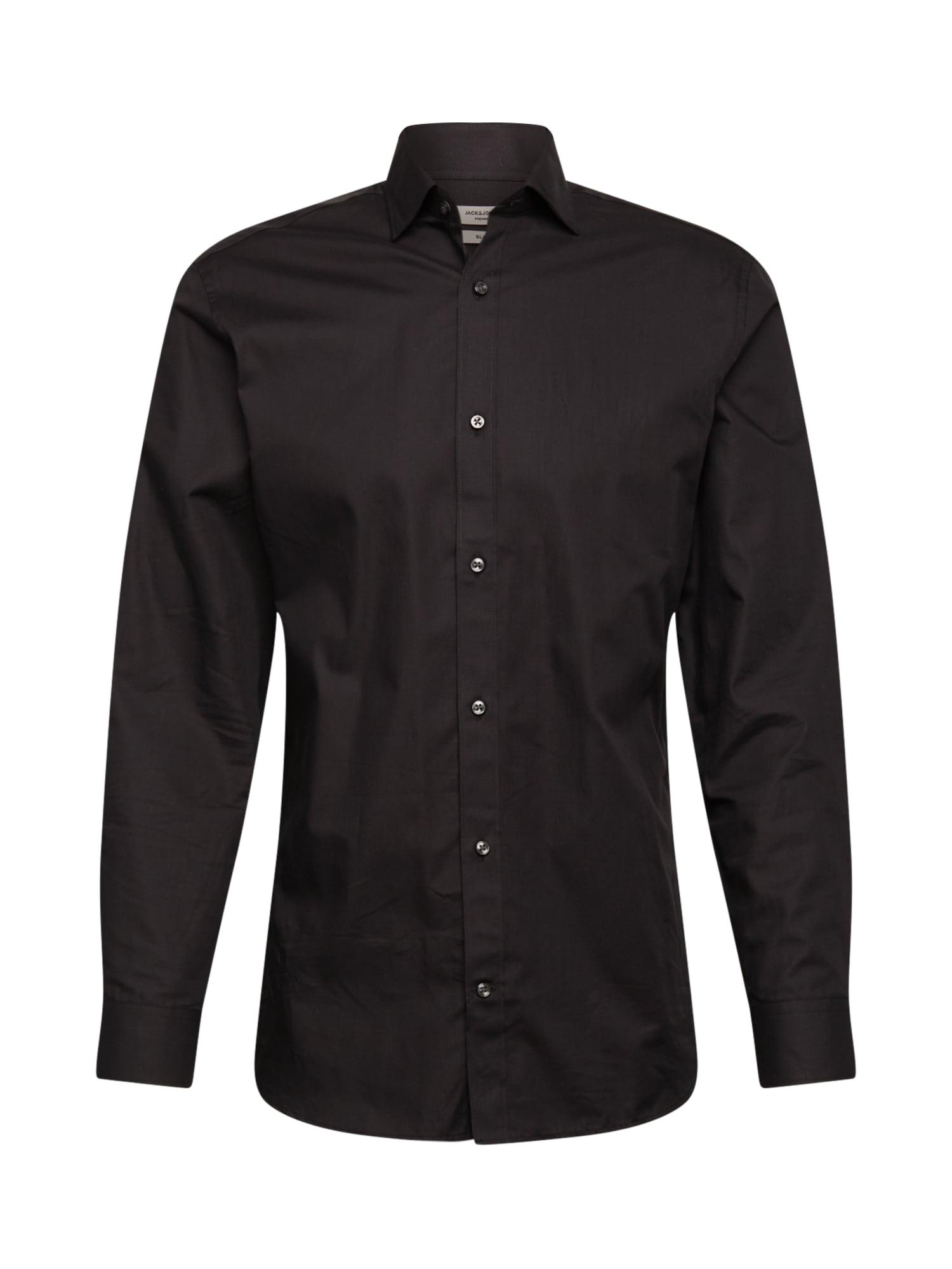 JACK & JONES Marškiniai juoda
