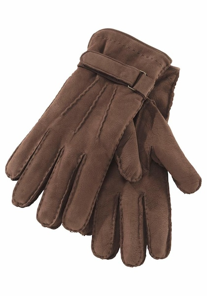 Handschuhe für Frauen - J. Jayz Lederhandschuhe braun  - Onlineshop ABOUT YOU