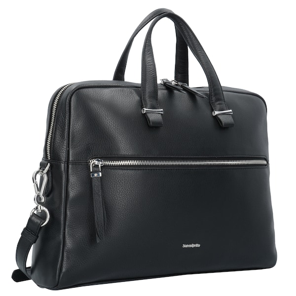 Businesstaschen für Frauen - SAMSONITE Highline II Aktentasche Leder 39 cm Laptopfach schwarz  - Onlineshop ABOUT YOU