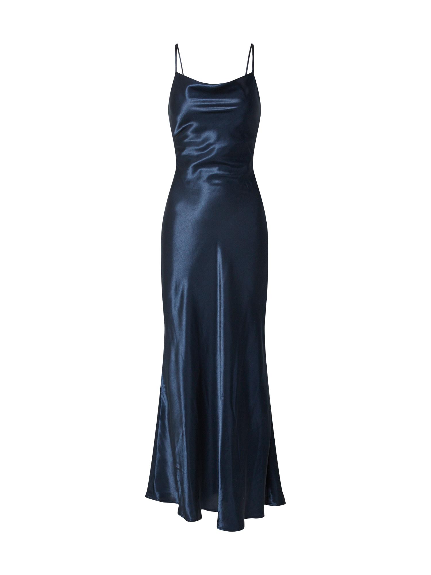 Bardot Vakarinė suknelė 'ESTELLE' juoda / tamsiai mėlyna