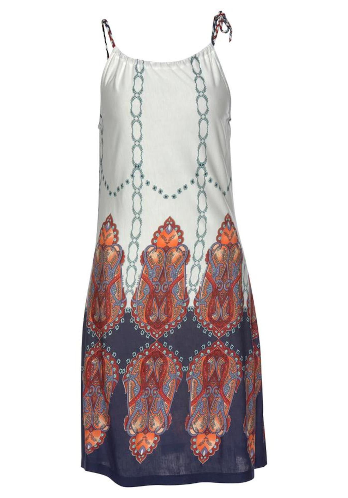 BEACH TIME Plážové šaty  zmiešané farby / biela