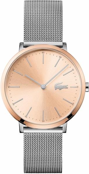 Uhren für Frauen - LACOSTE Quarzuhr 'M'OON, 2001002' rosegold silber  - Onlineshop ABOUT YOU