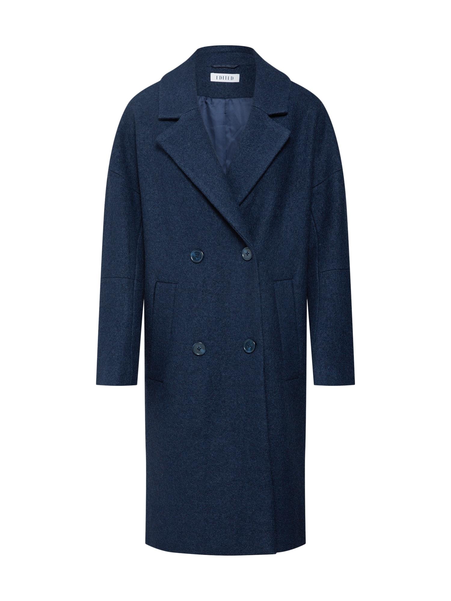 EDITED Žieminis paltas 'Hanne' tamsiai mėlyna