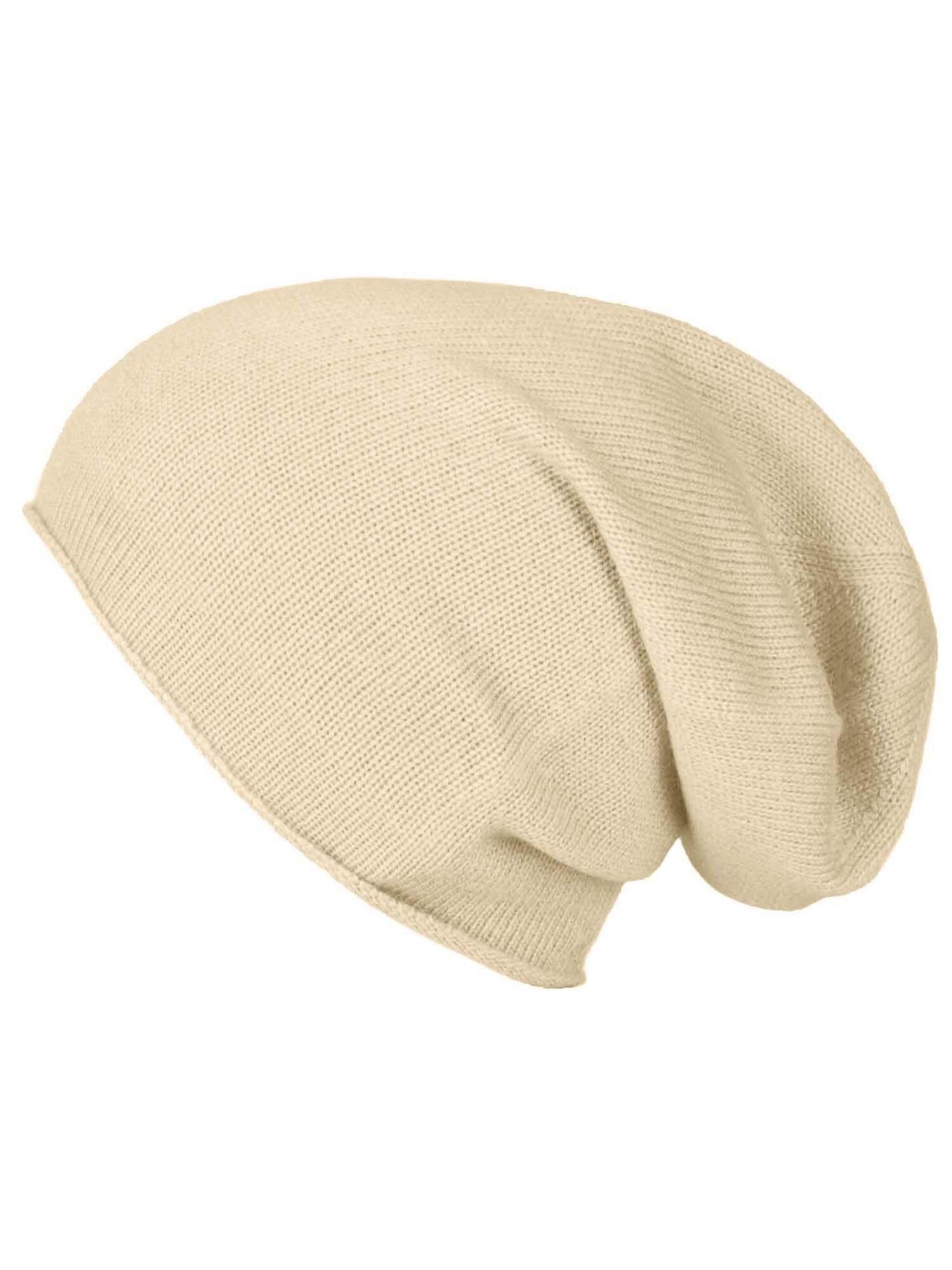 ABOUT YOU Megzta kepurė 'Merle' smėlio