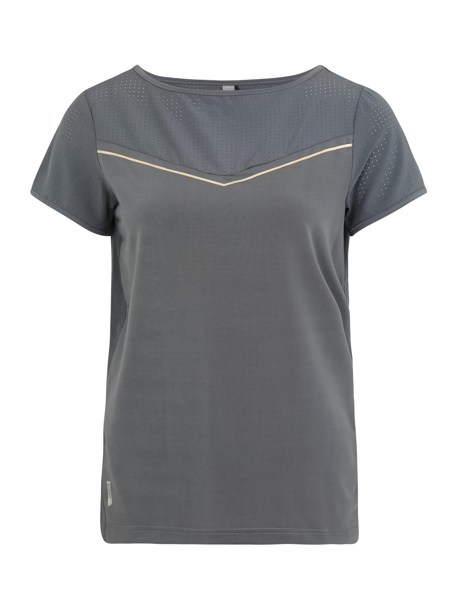ONLY PLAY Sportiniai marškinėliai 'JEWEL' pilka