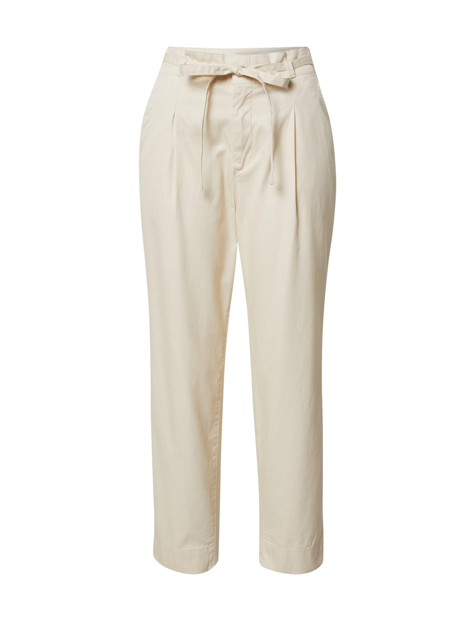 GAP Kelnės 'PAPERBAG' nebalintos drobės spalva