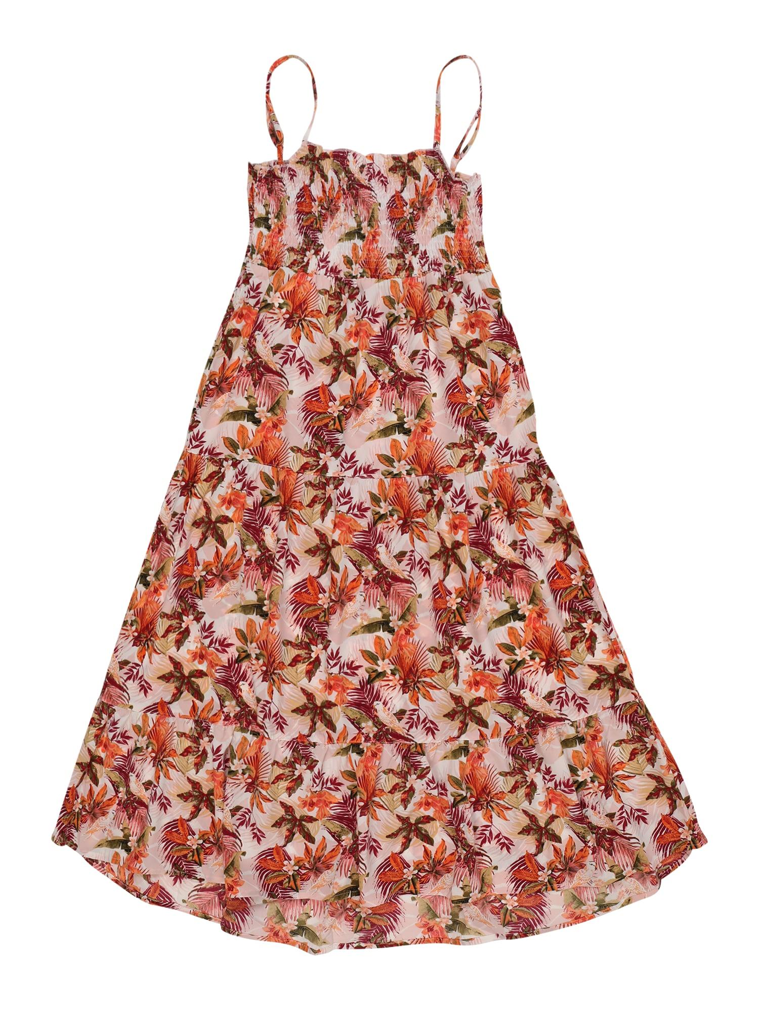 NAME IT Suknelė 'Kfvinaya' oranžinė / rožinė