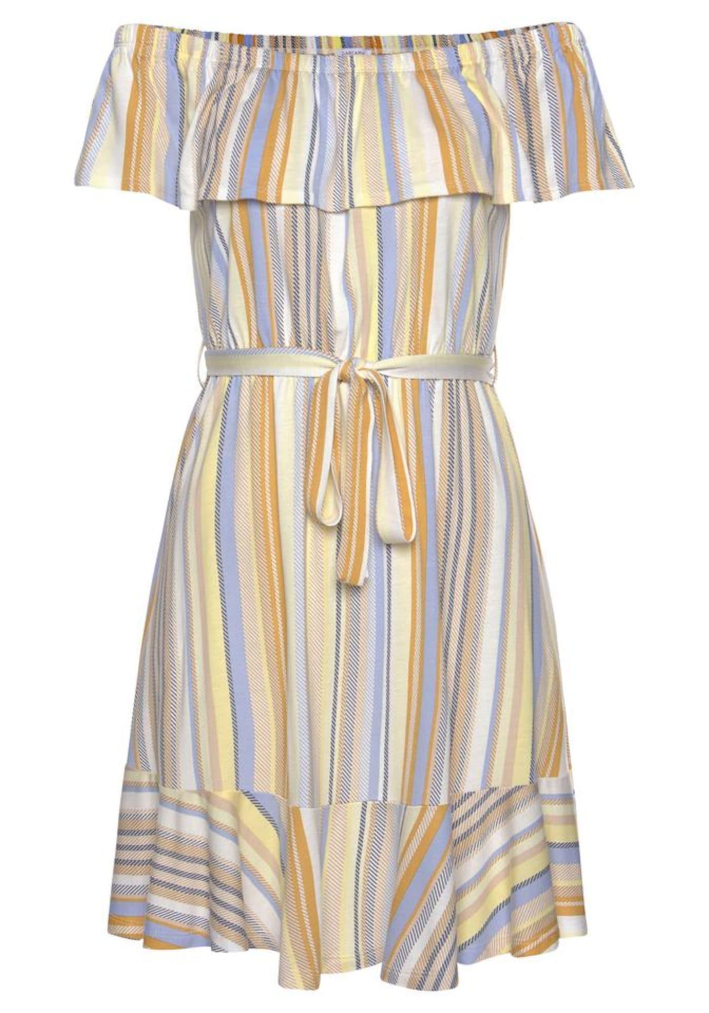 VENICE BEACH Paplūdimio suknelė mišrios spalvos / geltona / mėlyna / smėlio