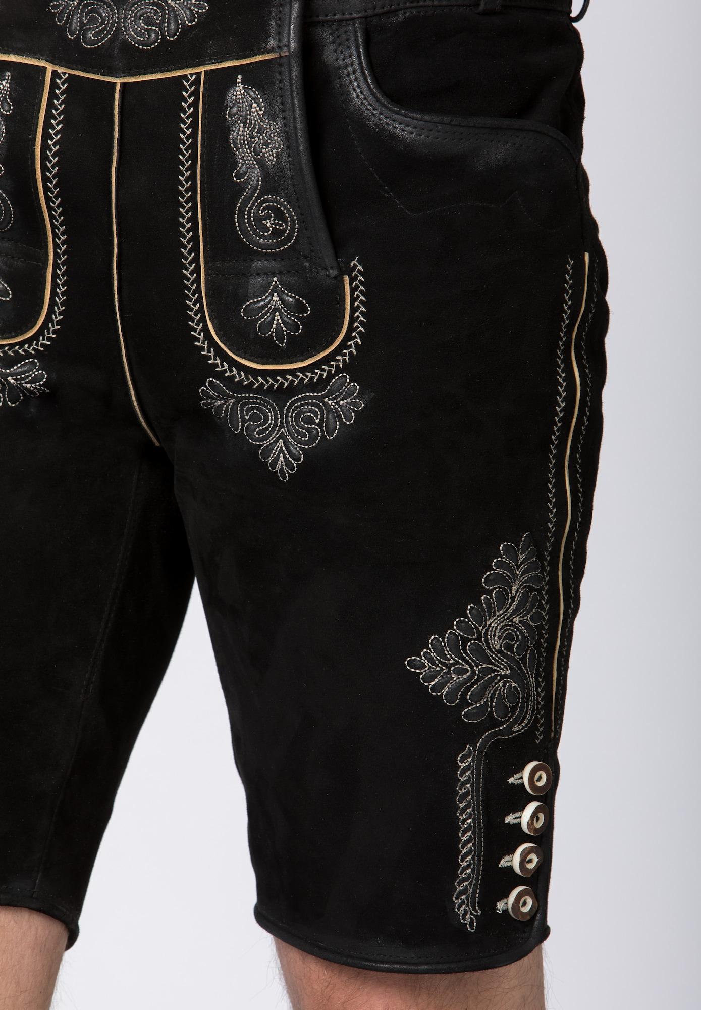 STOCKERPOINT Krojové nohavice  čierna.