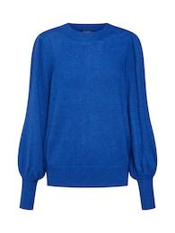 SOAKED IN LUXURY Damen Pullover Gabriella blau | 05713344475551