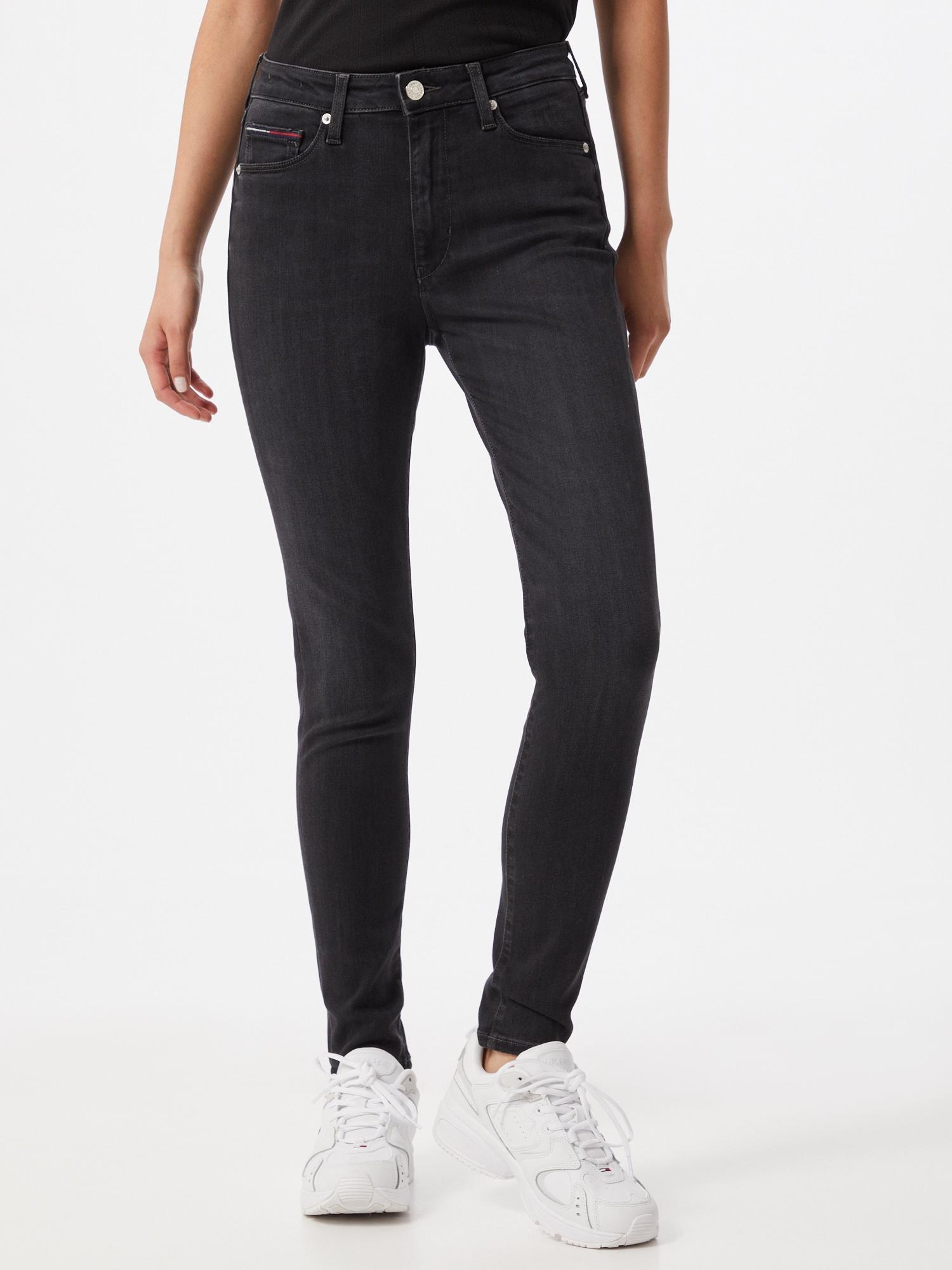 Tommy Jeans Jeans 'SYLVIA'  svart denim