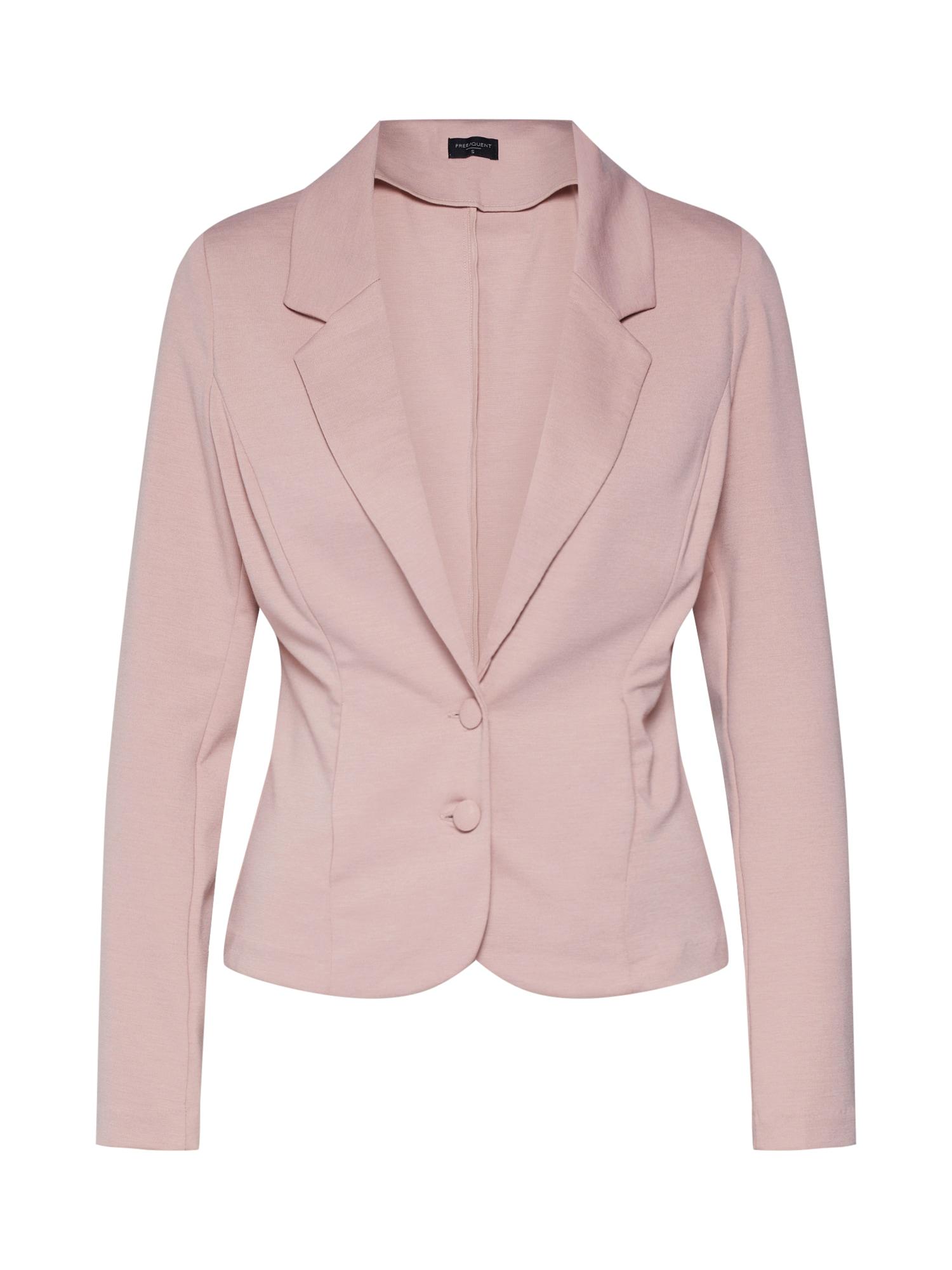 Freequent Blazer švarkas 'NANNI' šviesiai rožinė / smėlio