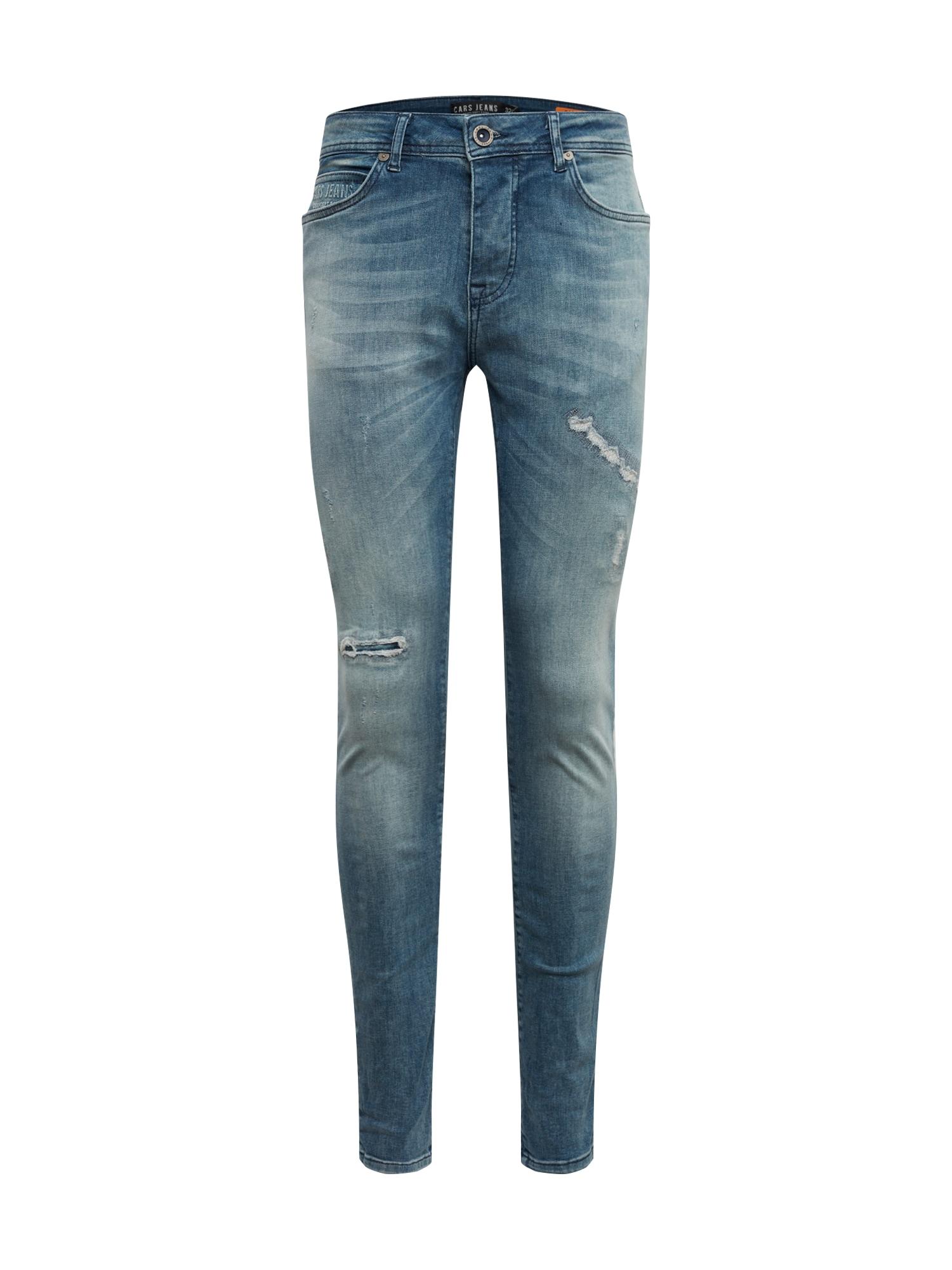 Cars Jeans Džinsai 'ARON' tamsiai (džinso) mėlyna