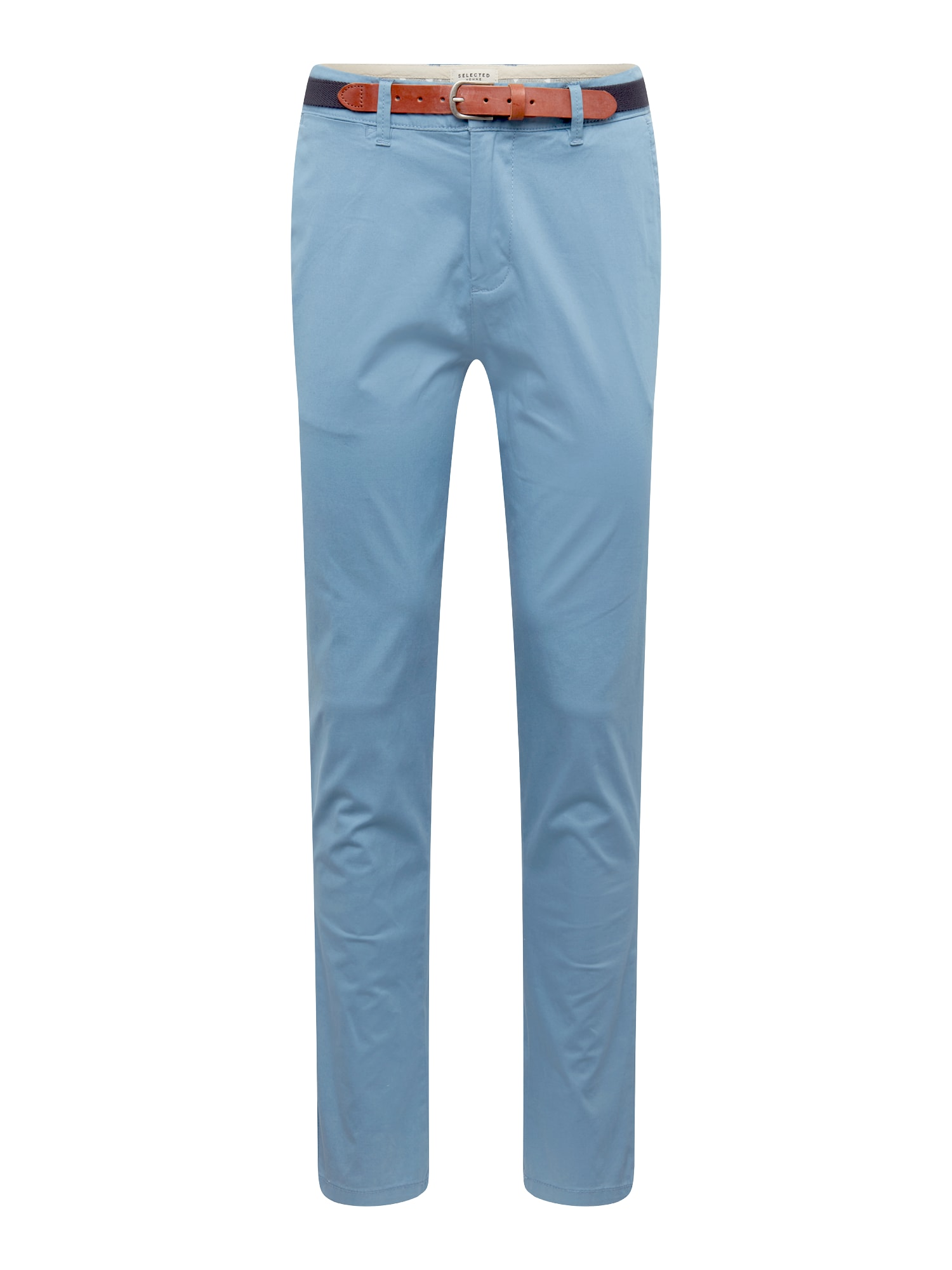 SELECTED HOMME Chino nohavice 'Blue Shadow'  dymovo modrá