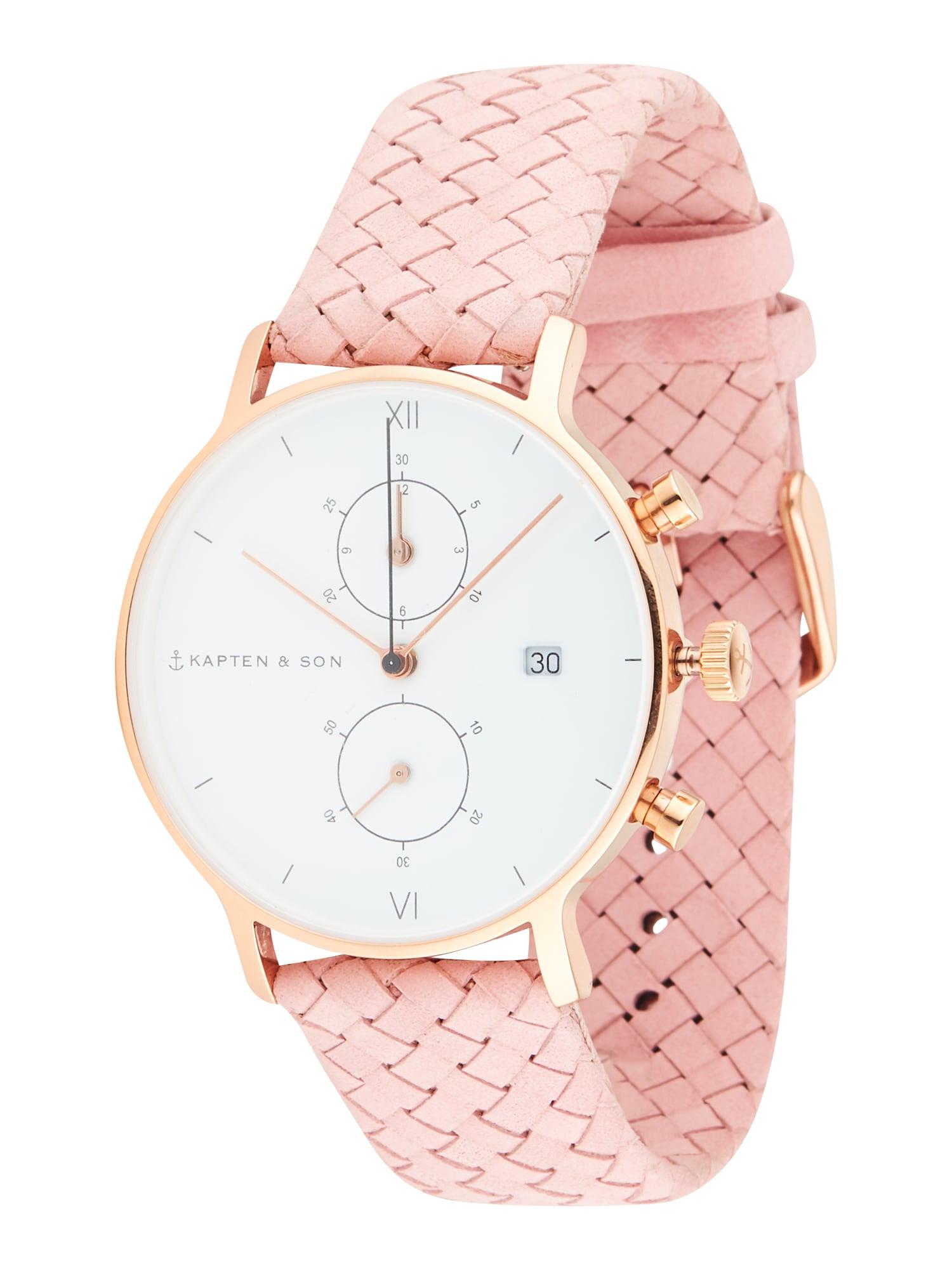 Kapten & Son Analoginis (įprasto dizaino) laikrodis rožinė