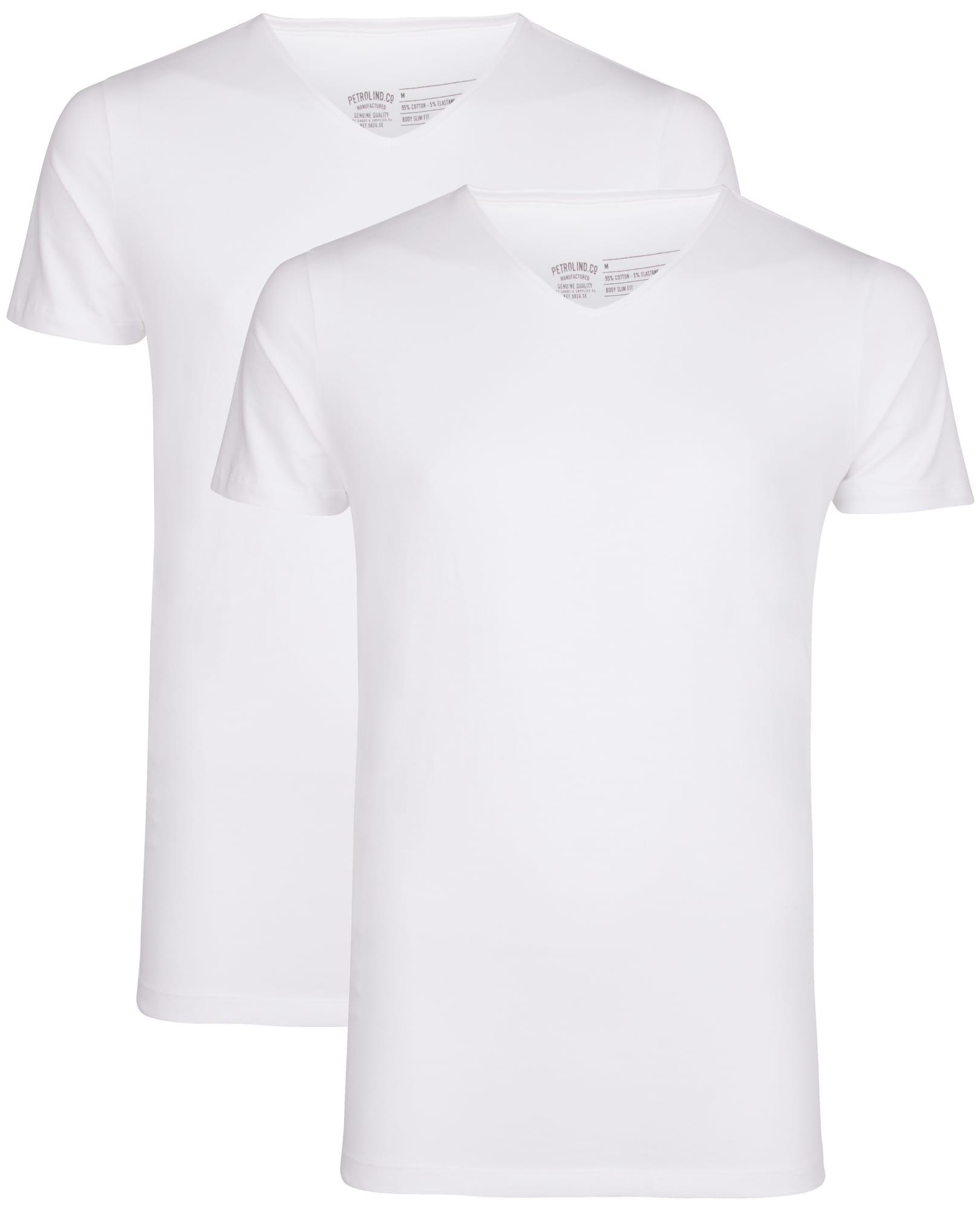 Petrol Industries Marškinėliai balta