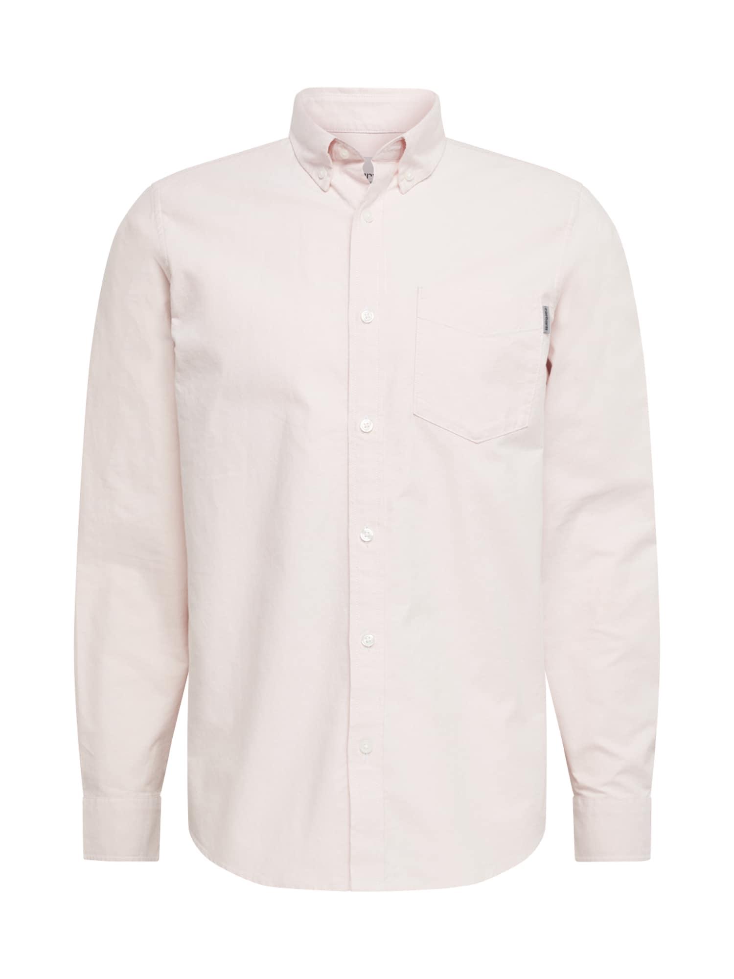 Carhartt WIP Dalykiniai marškiniai 'L/S Button Down Pocket' rožių spalva