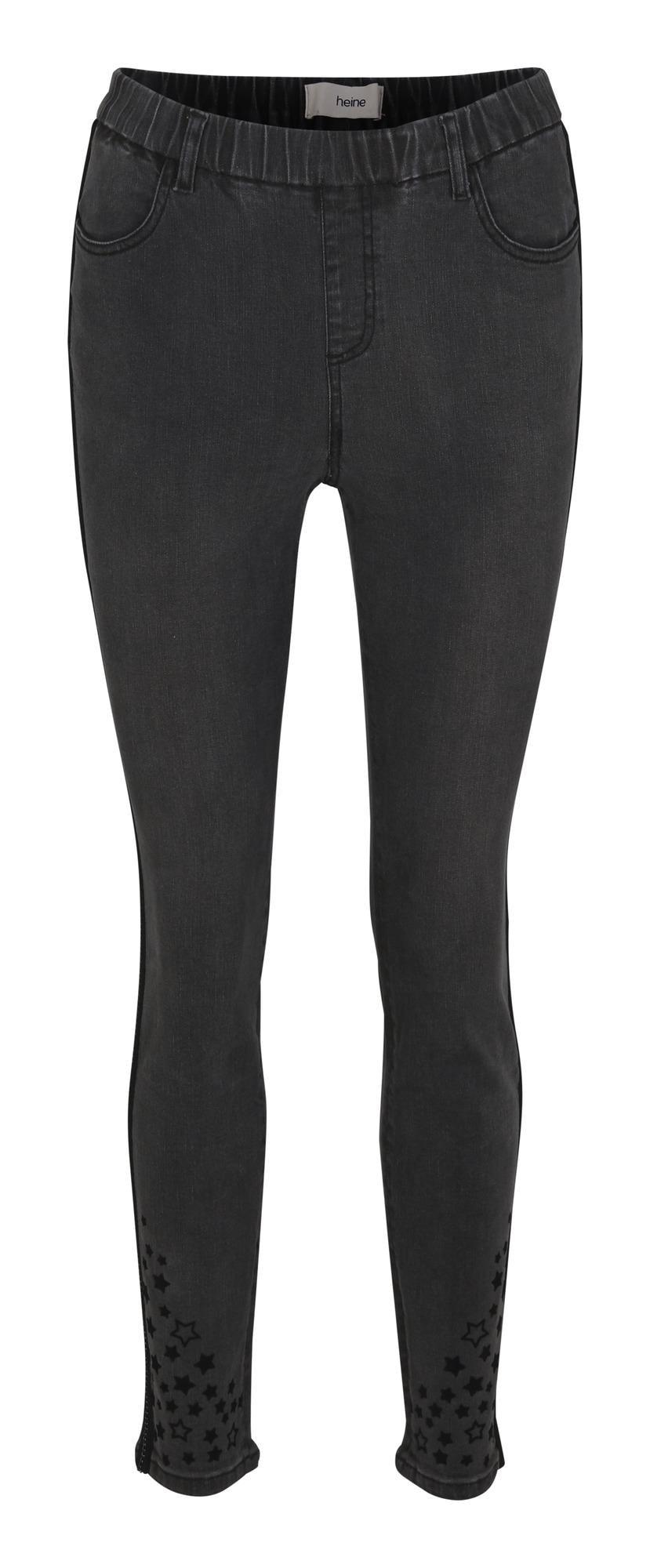 heine Džegingsai juodo džinso spalva