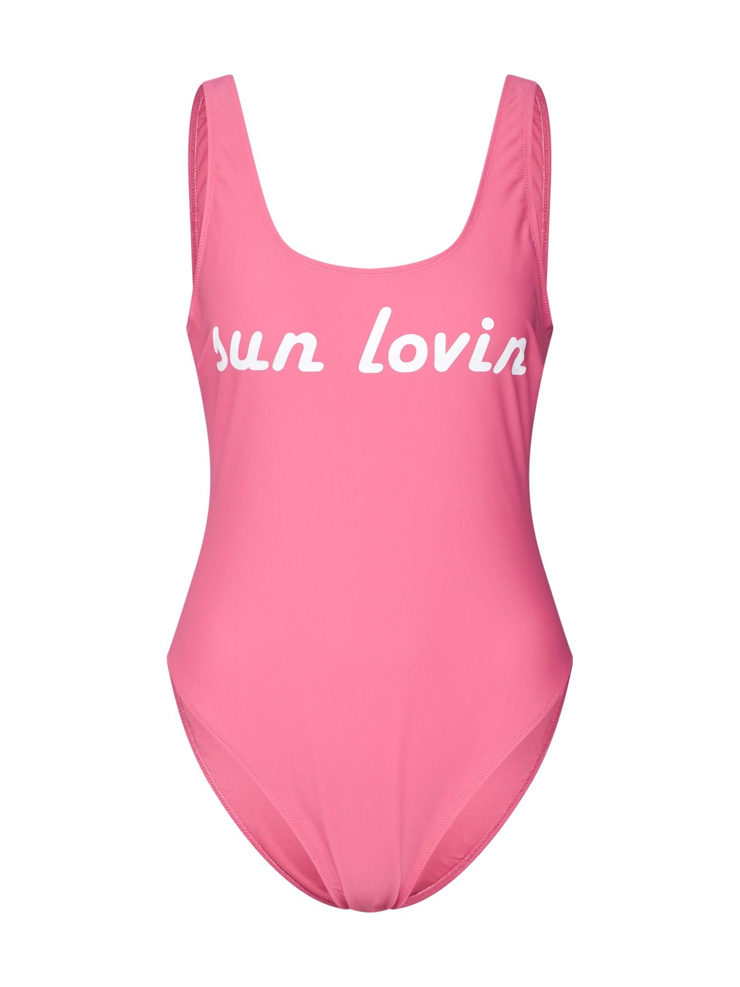 Plavky COSIMA pink ABOUT YOU X Sarina Nowak