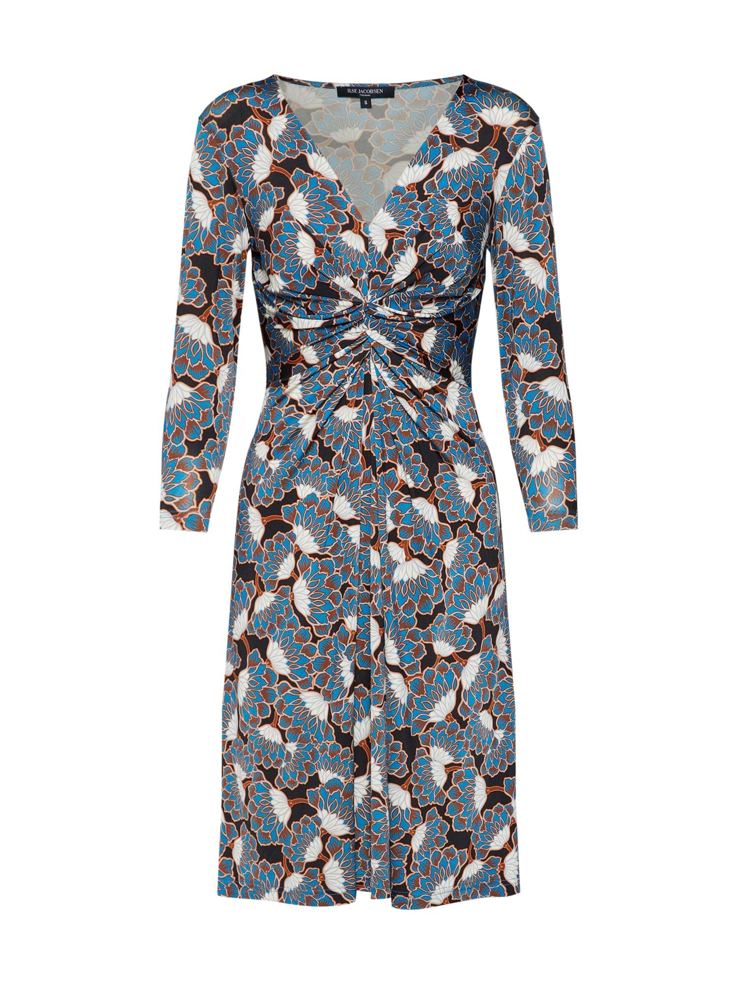 Šaty DRESS kouřově modrá ILSE JACOBSEN