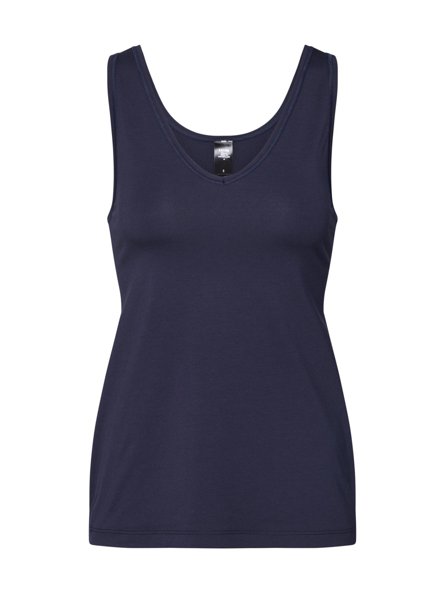 CALIDA Apatiniai marškinėliai mėlyna