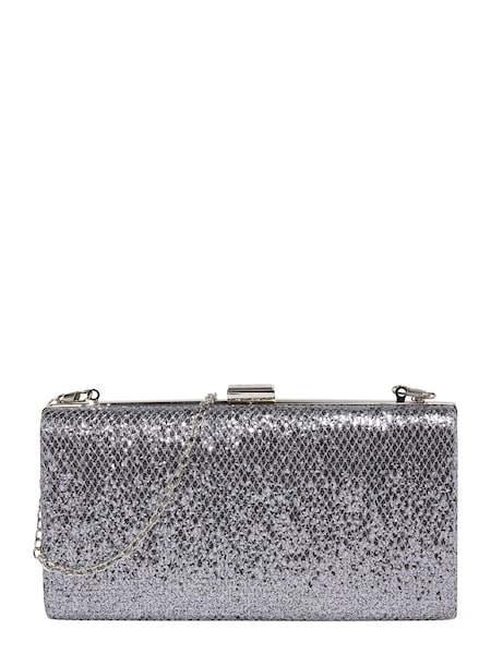 Clutches für Frauen - Mascara Clutch 'METALLIC SNAKE' silber  - Onlineshop ABOUT YOU