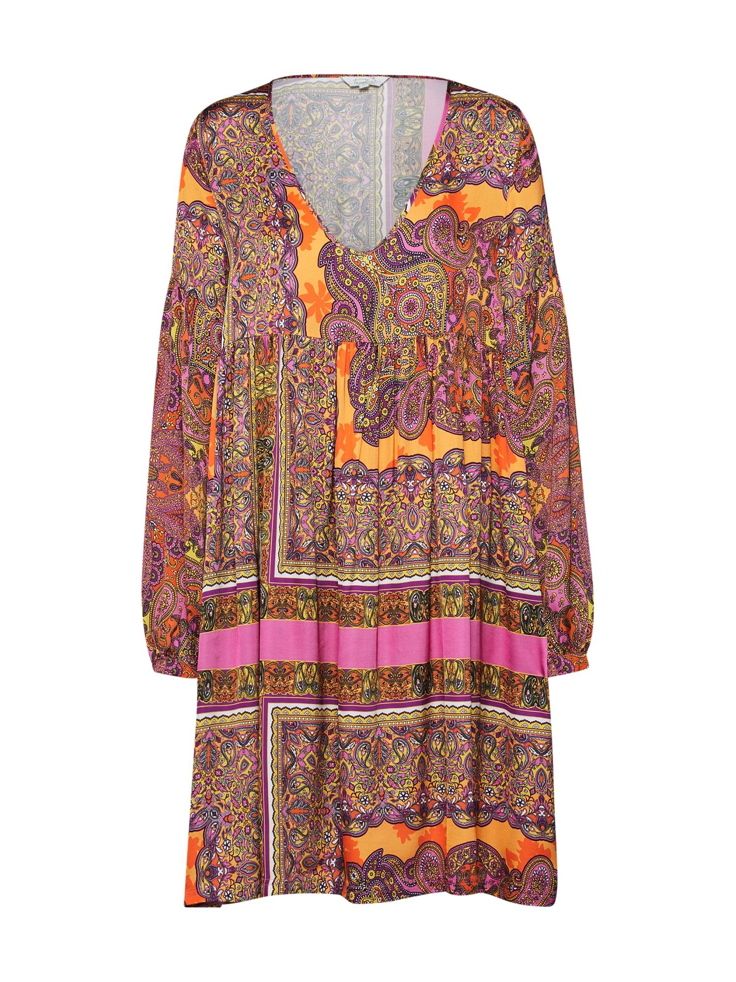 Letní šaty Tunic mix barev Frogbox