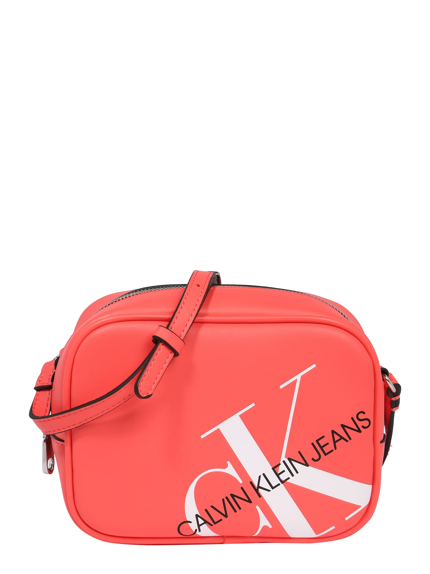 Calvin Klein Jeans Taška přes rameno  černá / červená / bílá