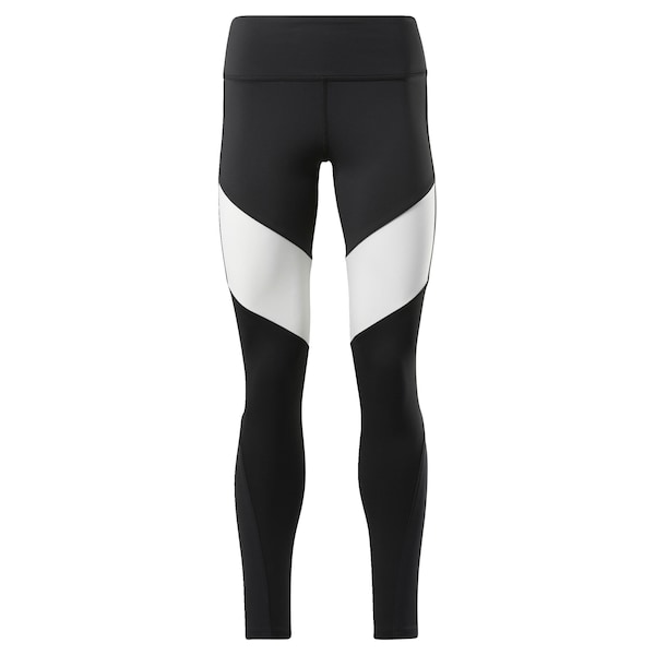Hosen - Leggings › Reebok › schwarz weiß  - Onlineshop ABOUT YOU