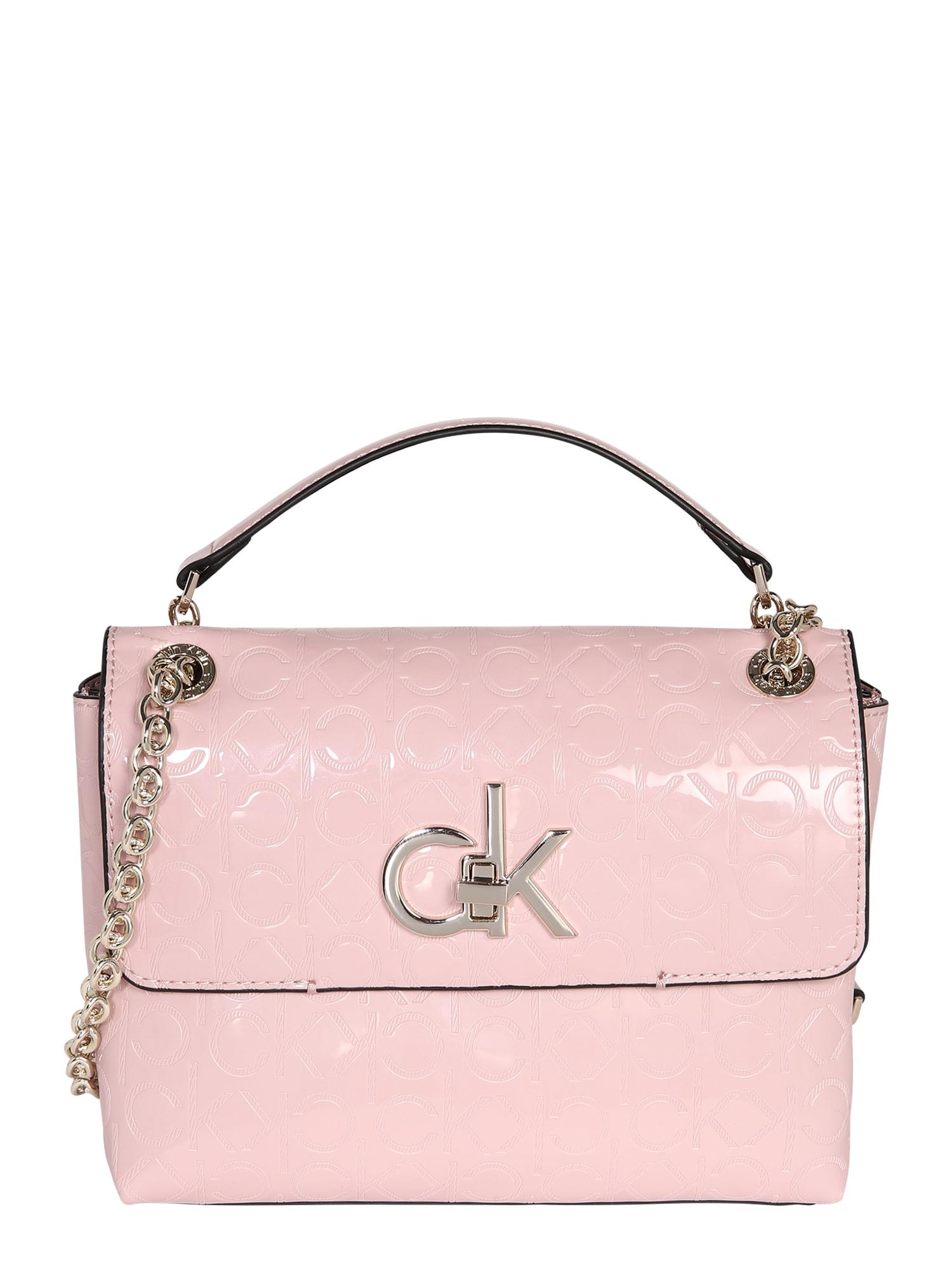 Calvin Klein Torba na ramię 'RE-LOCK EM CONV CROSSBODY MD'  różowy