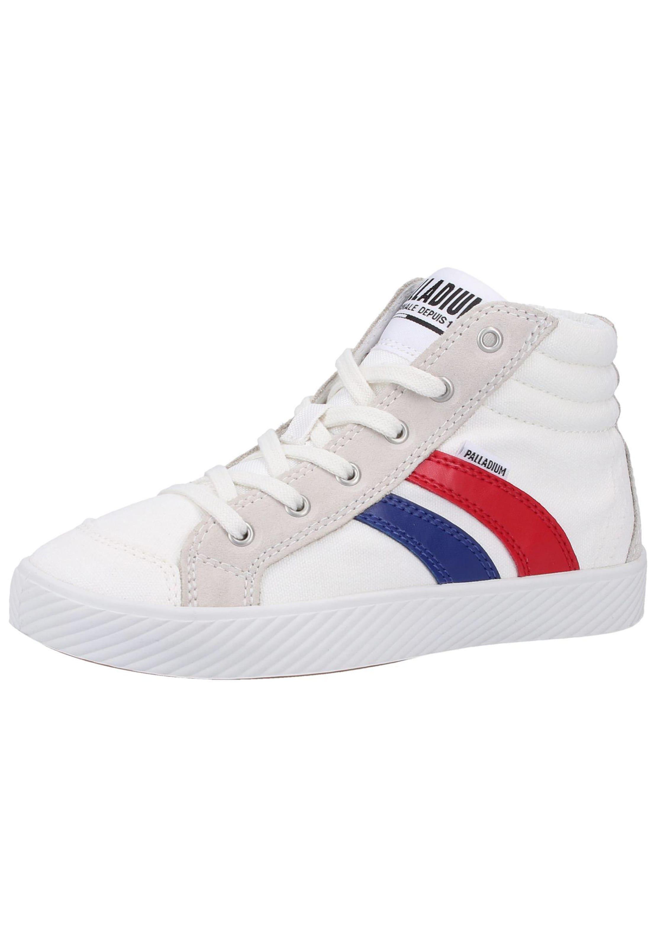 Jungen,  Kinder,  Kinder Palladium Sneaker blau, blau,  rot,  weiß | 03610942438518