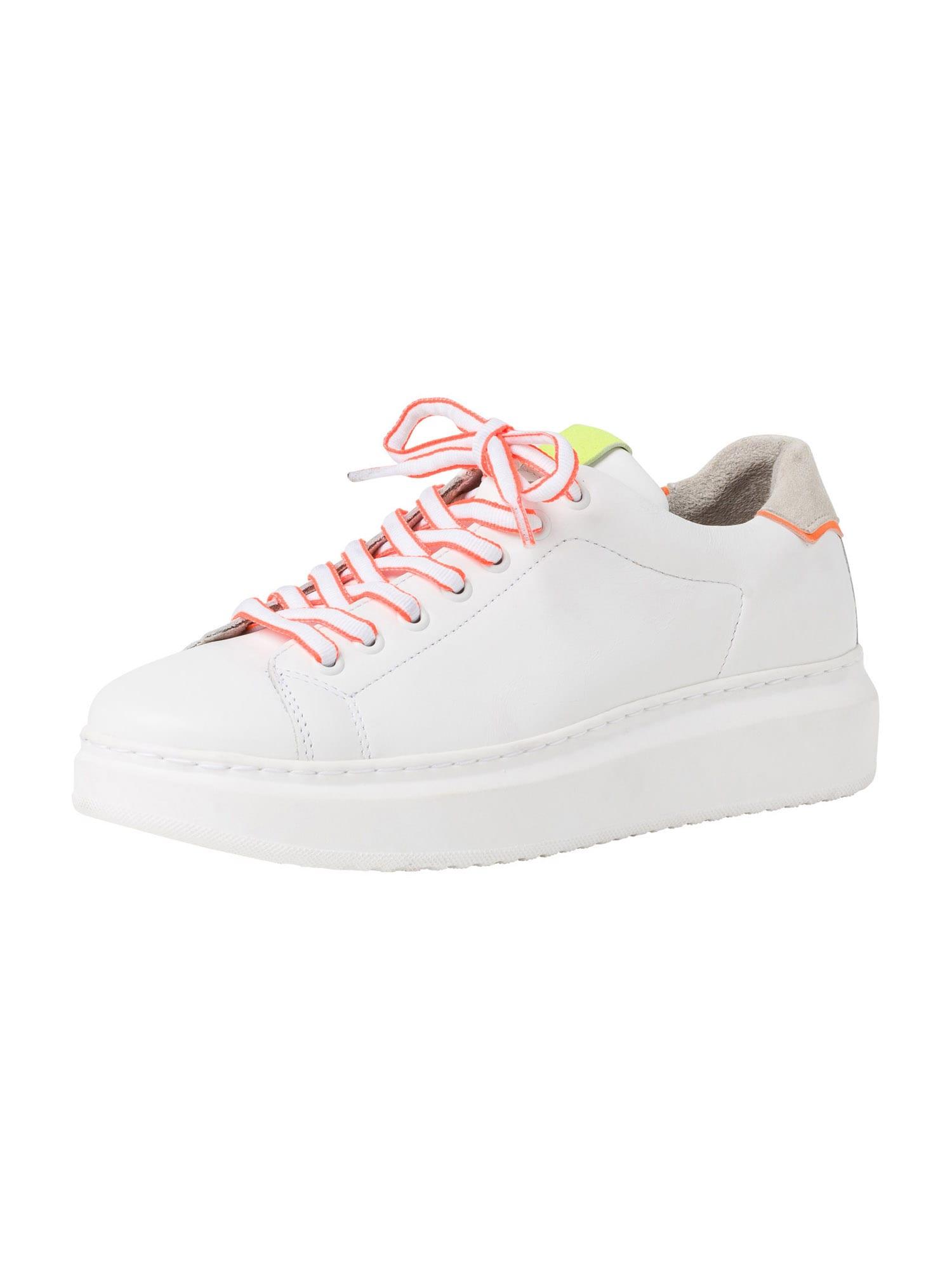 TAMARIS Nízke tenisky  ružová / biela