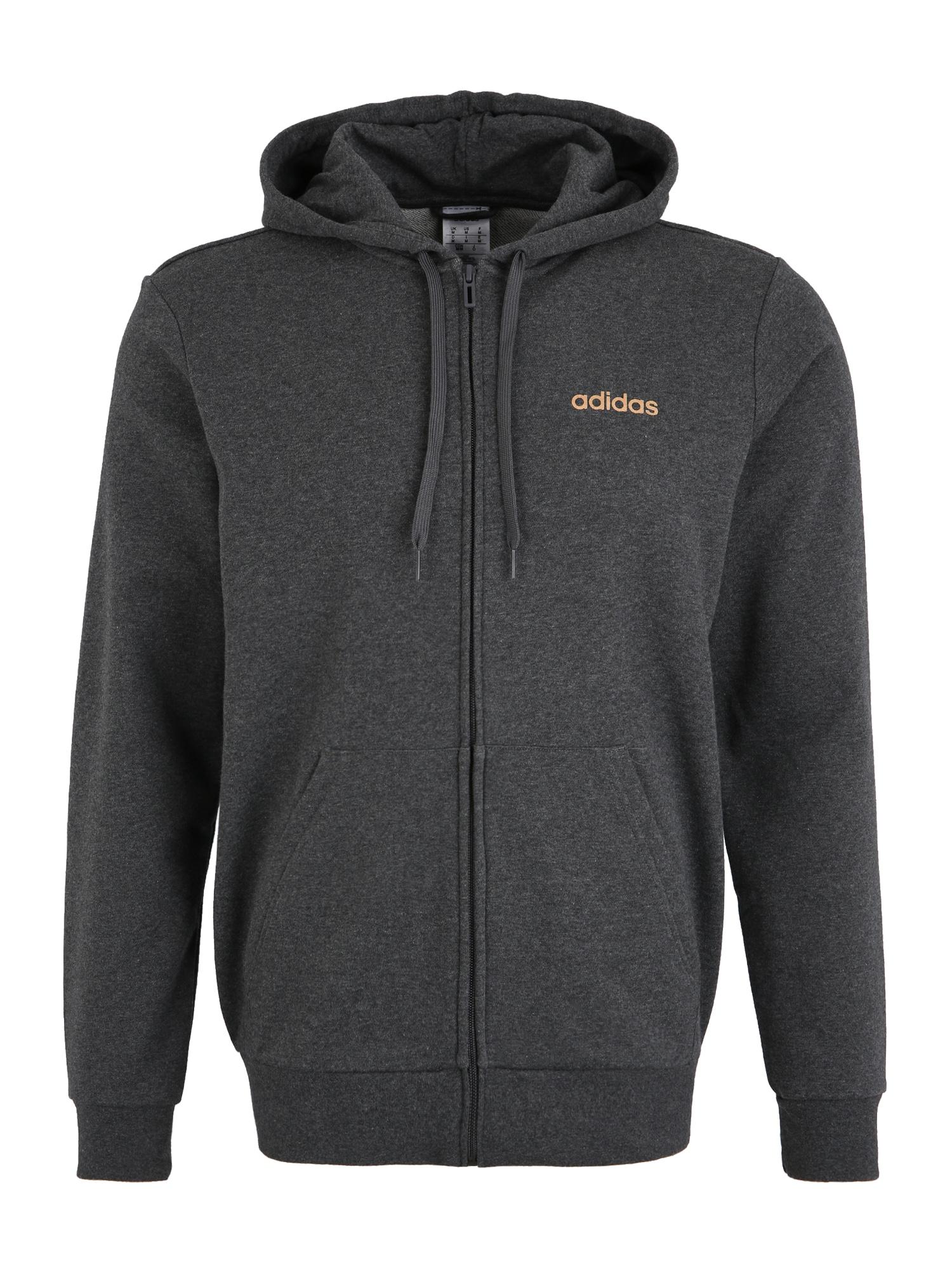 ADIDAS PERFORMANCE Sportinis džemperis tamsiai pilka