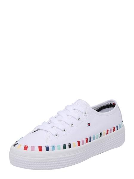 Sneakers für Frauen - TOMMY HILFIGER Sneaker 'RAINBOW' weiß  - Onlineshop ABOUT YOU