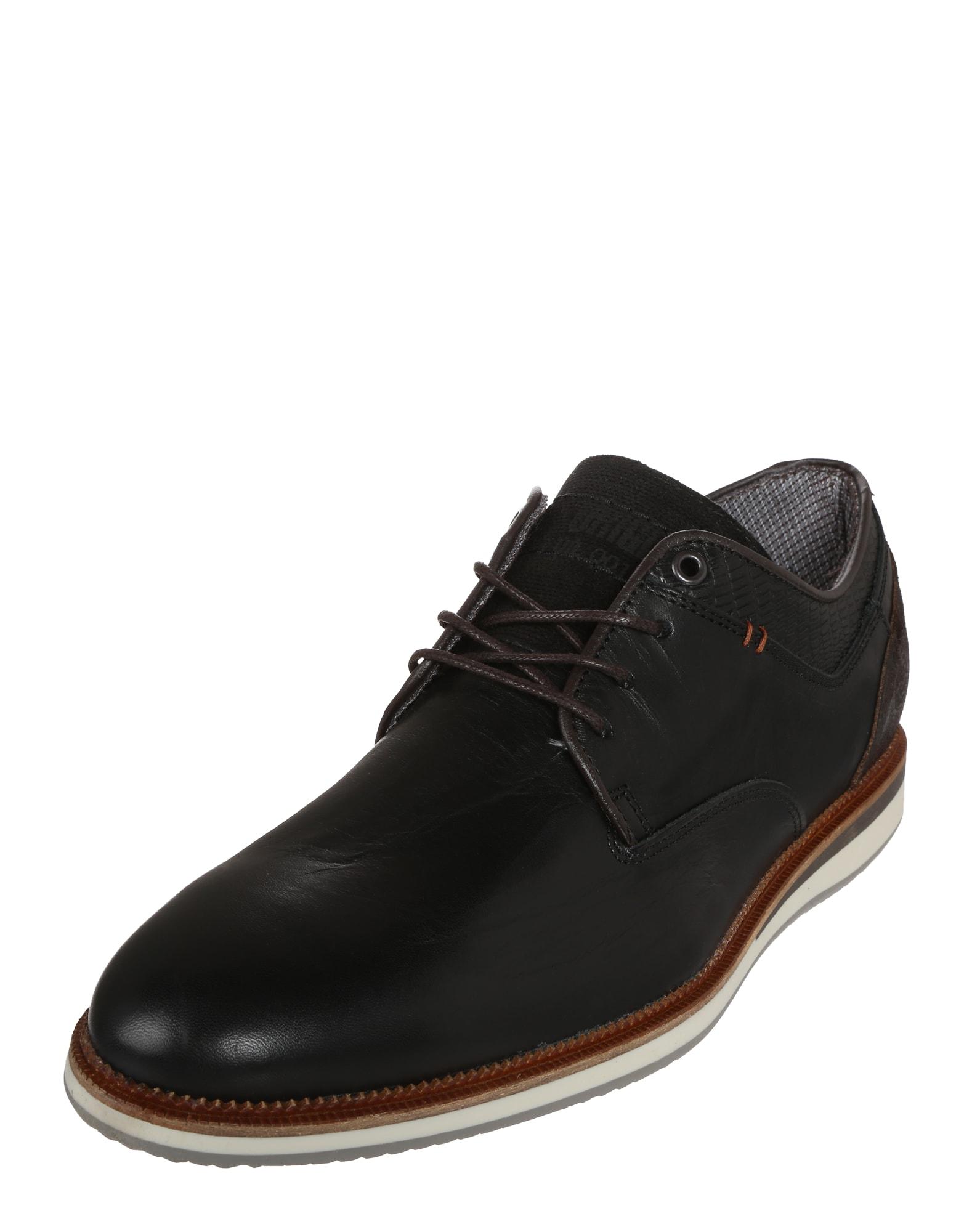 Šněrovací boty Derby Sportiv černá BULLBOXER