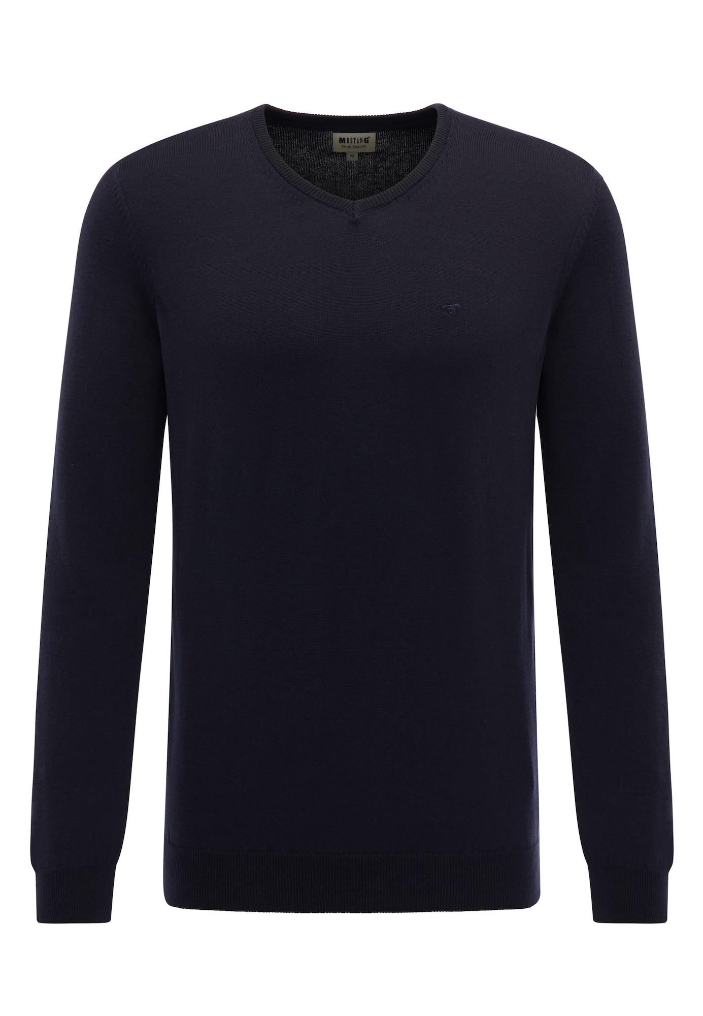 MUSTANG Megztinis tamsiai mėlyna