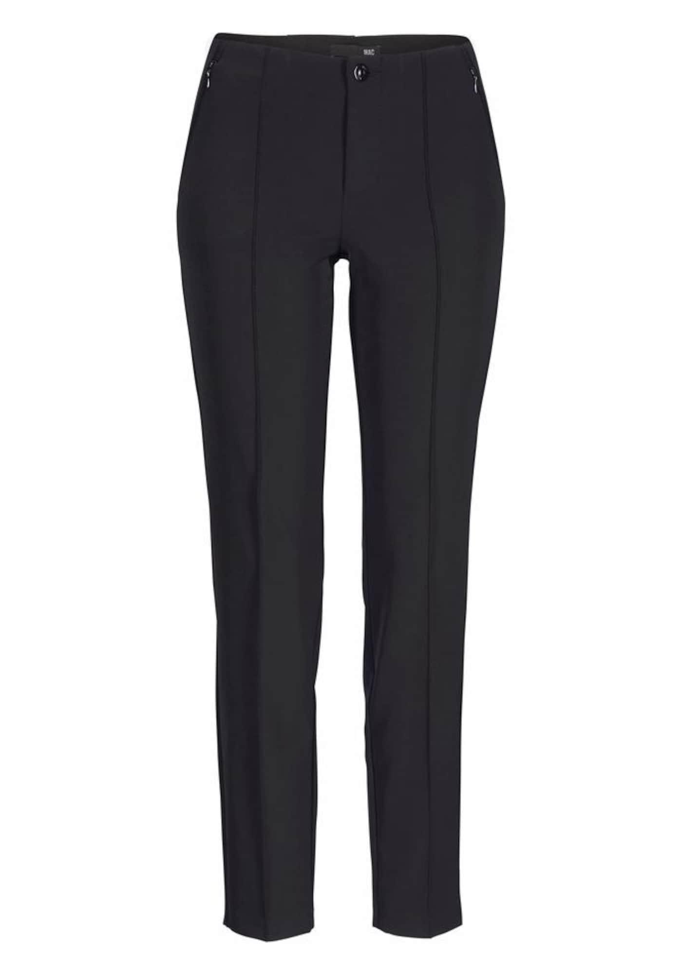 MAC Kelnės su kantu juoda