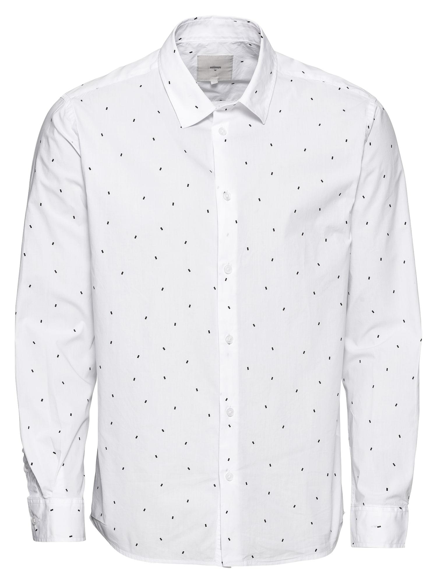 Košile topper černá bílá Minimum