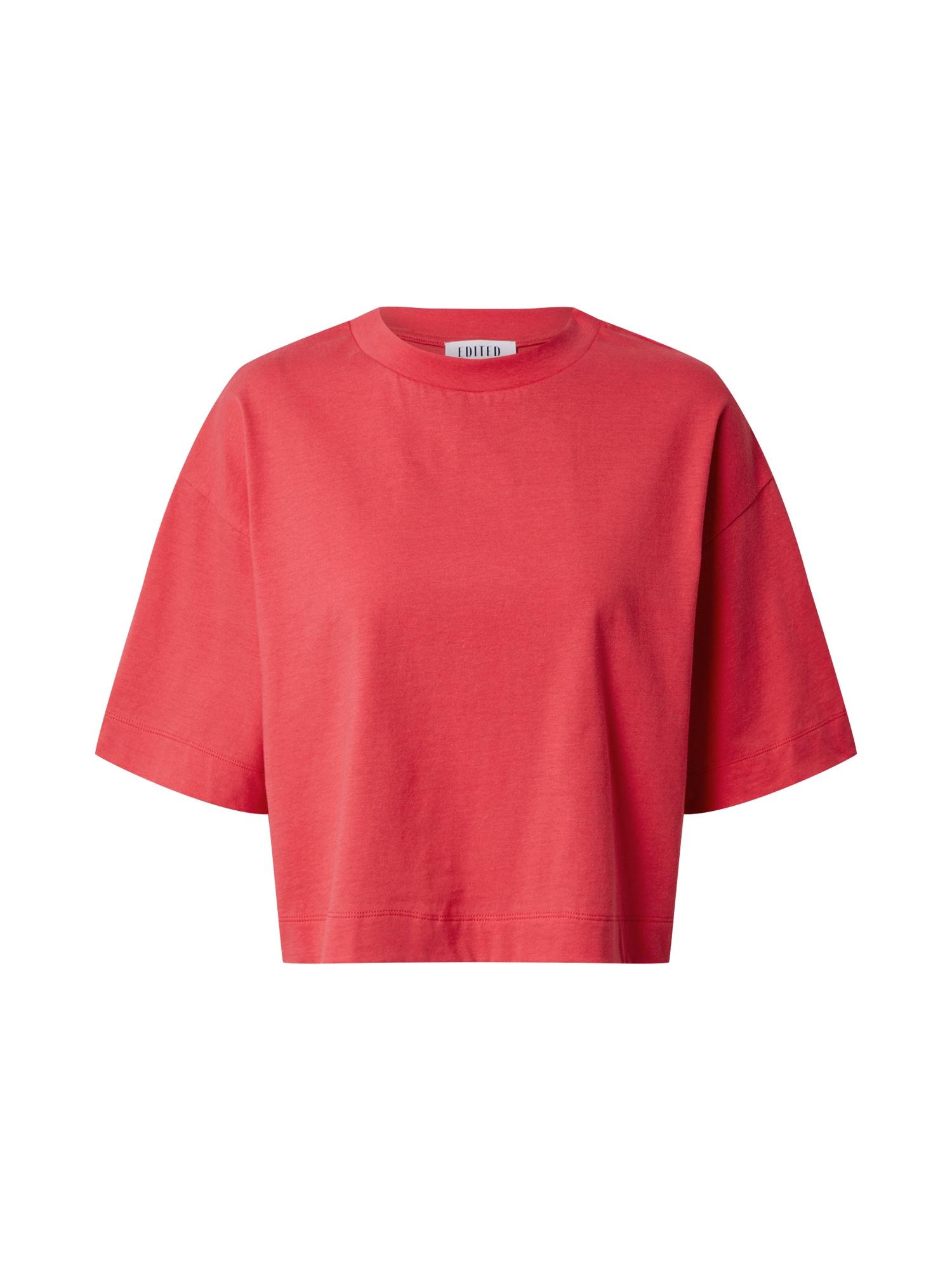 EDITED Marškinėliai 'Sila' spanguolių spalva