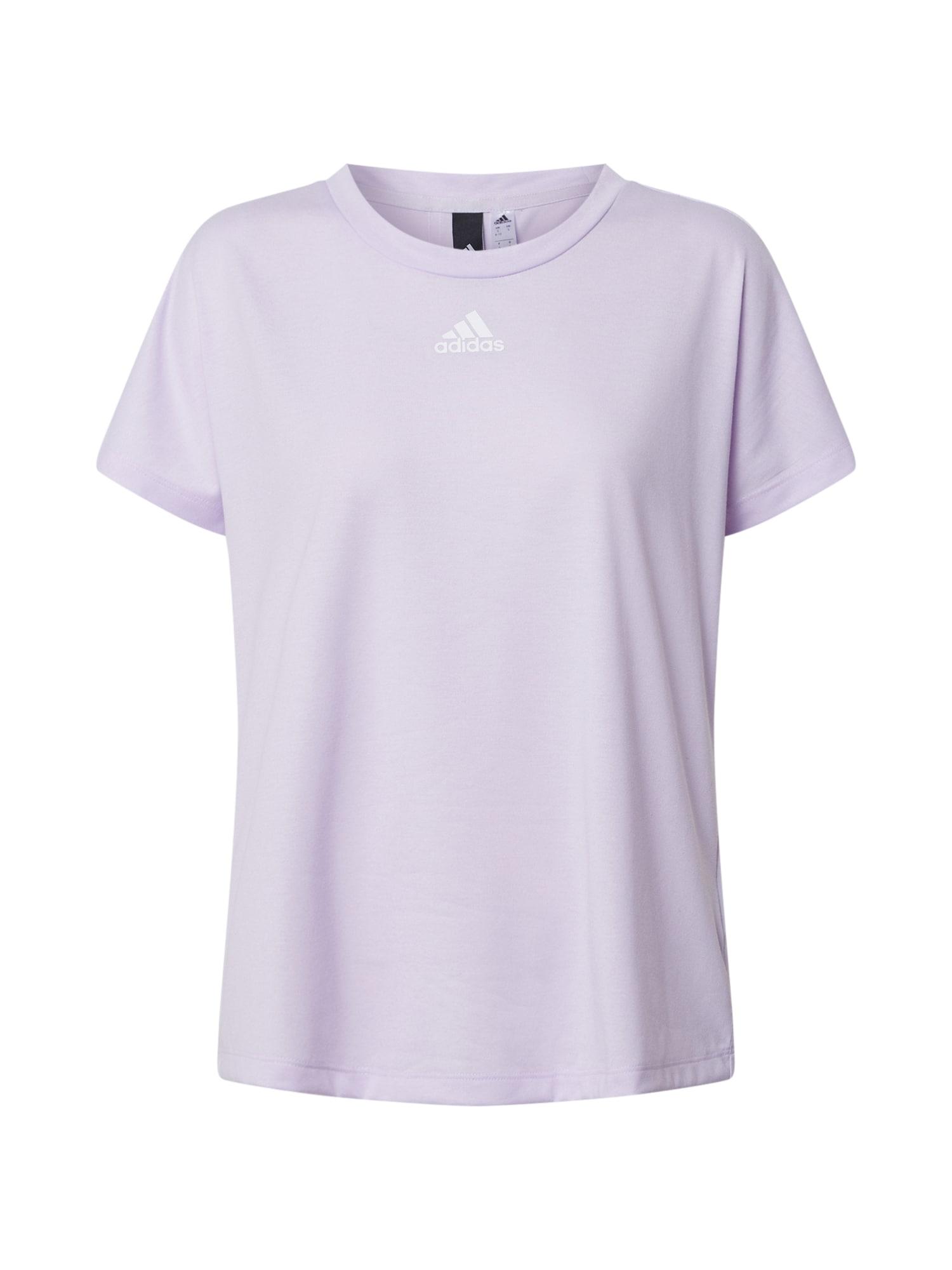 ADIDAS PERFORMANCE Sportiniai marškinėliai šviesiai violetinė