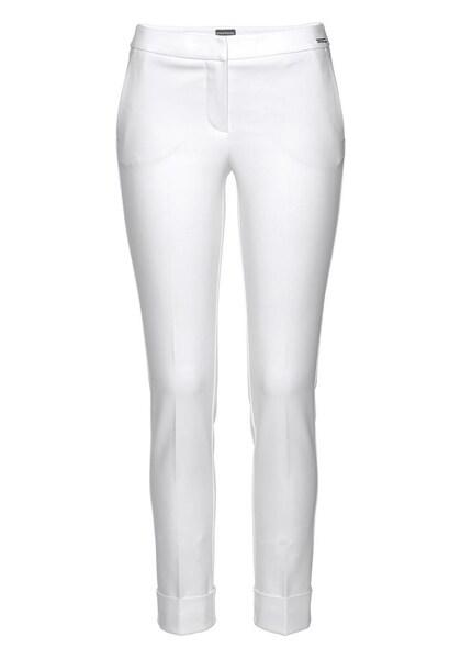 Hosen für Frauen - BRUNO BANANI Bügelfaltenhose weiß  - Onlineshop ABOUT YOU