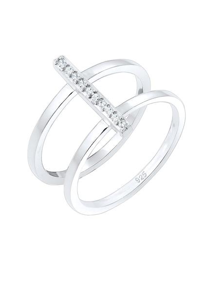 Ringe für Frauen - ELLI Ring silber transparent  - Onlineshop ABOUT YOU