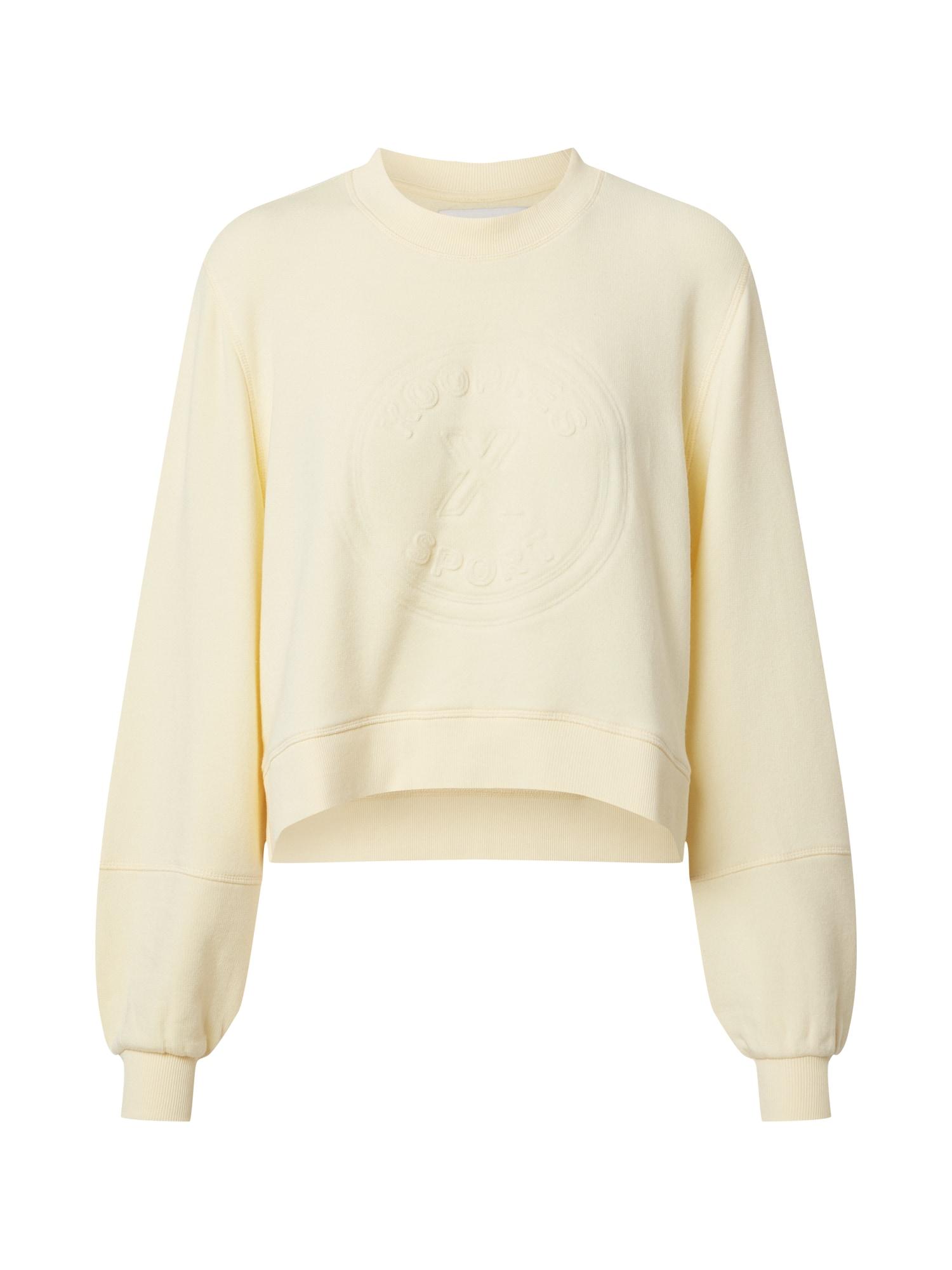 THE KOOPLES SPORT Megztinis be užsegimo pastelinė geltona