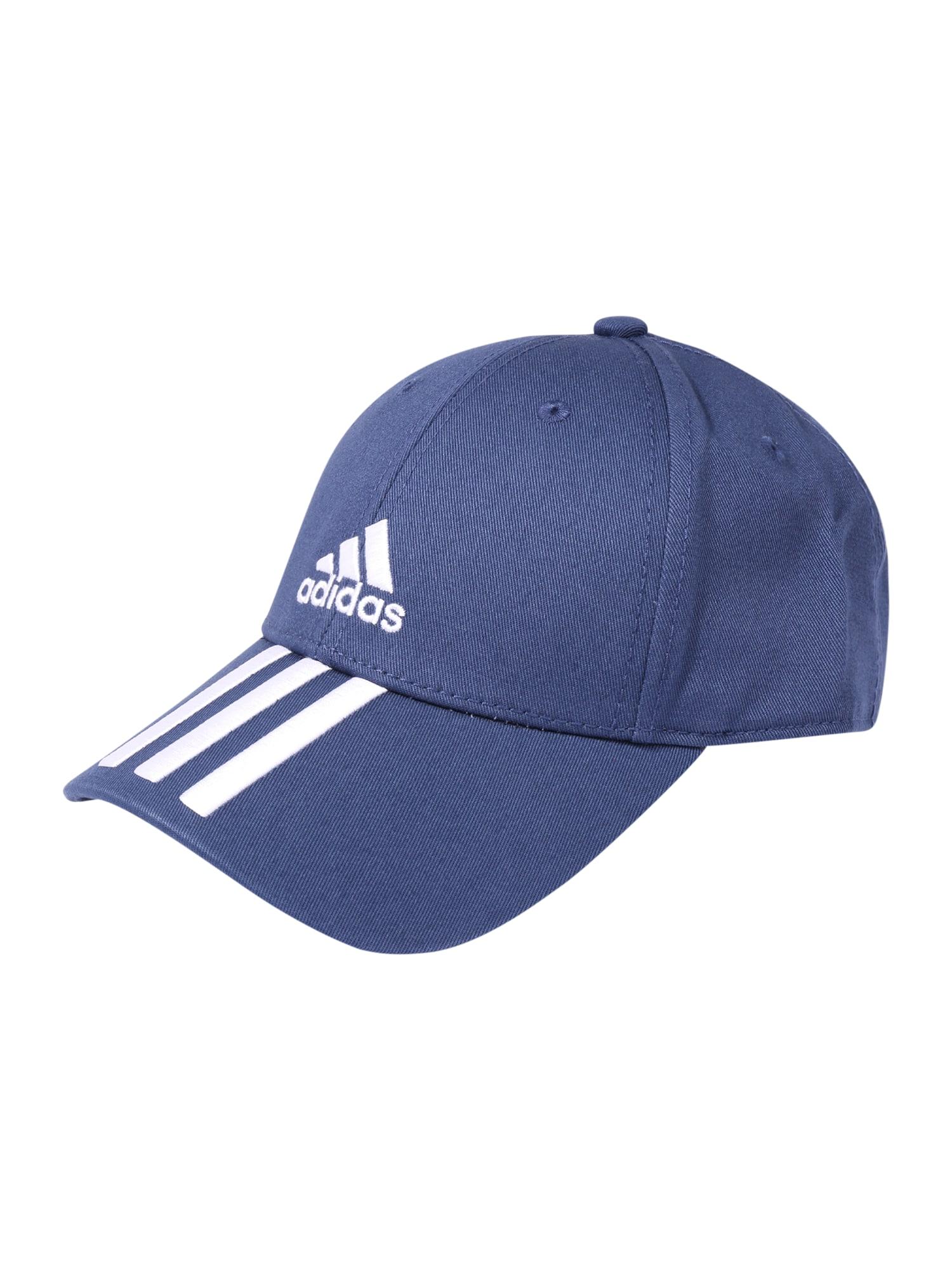 ADIDAS PERFORMANCE Sportinė kepurė mėlyna / balta