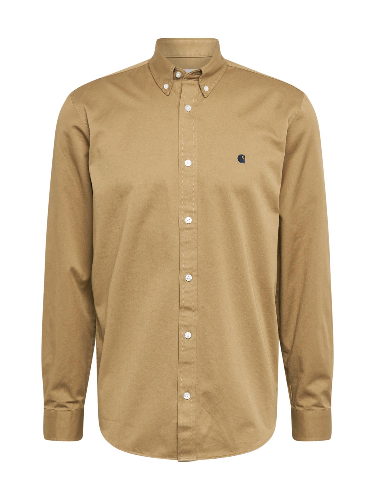 Carhartt WIP Dalykiniai marškiniai ruda