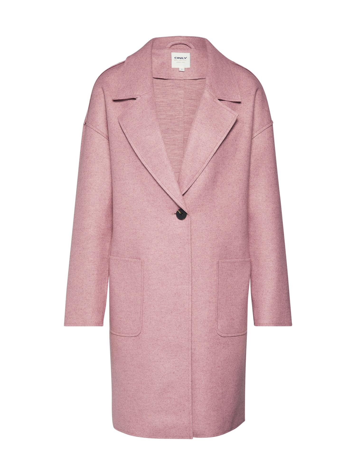 ONLY Rudeninis-žieminis paltas 'NANA' rožių spalva