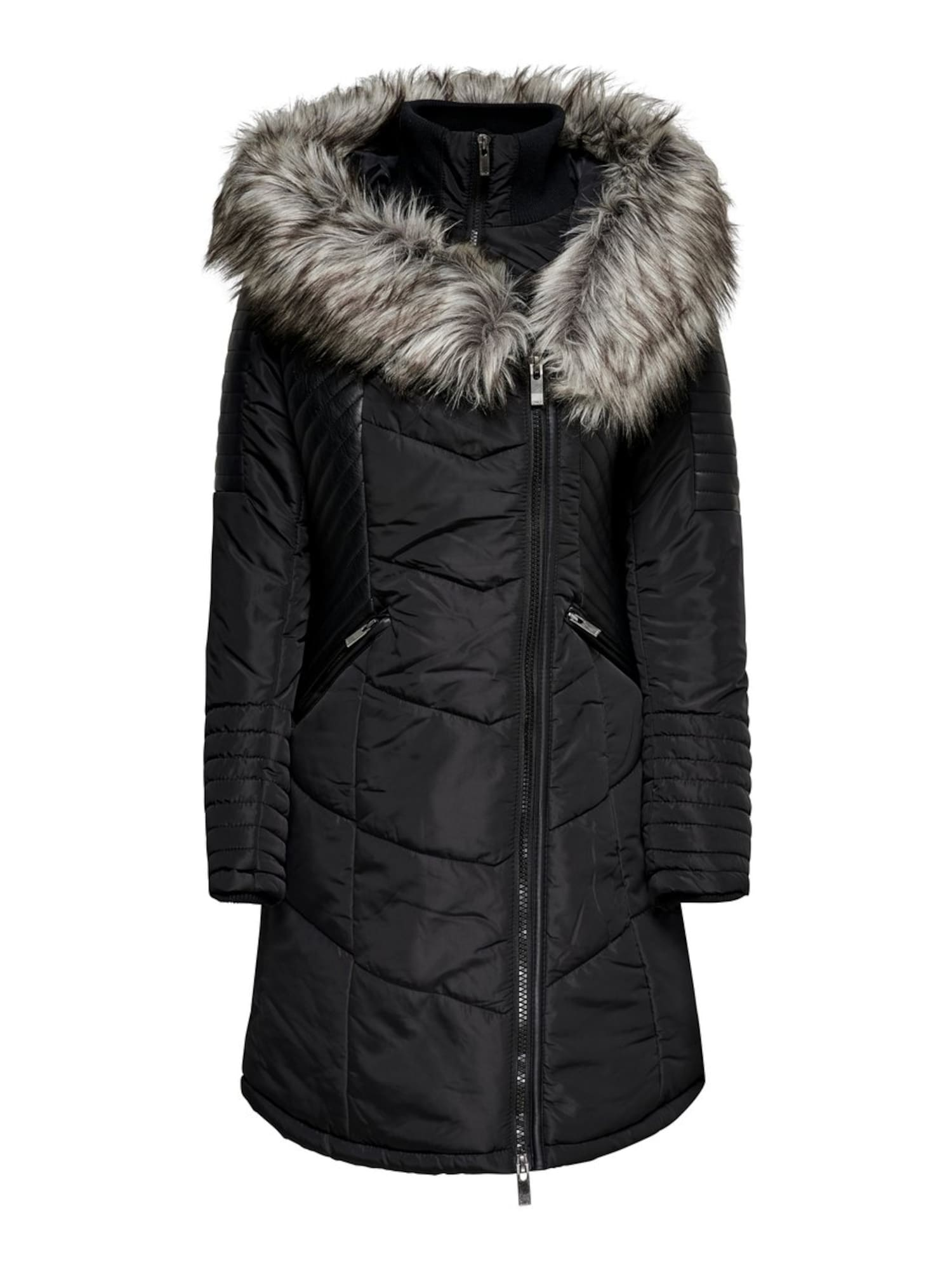 ONLY Demisezoninis paltas juoda