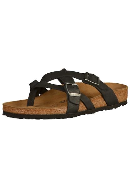 Sandalen für Frauen - Sandalen 'Temara' › Birkenstock › braun schwarz  - Onlineshop ABOUT YOU