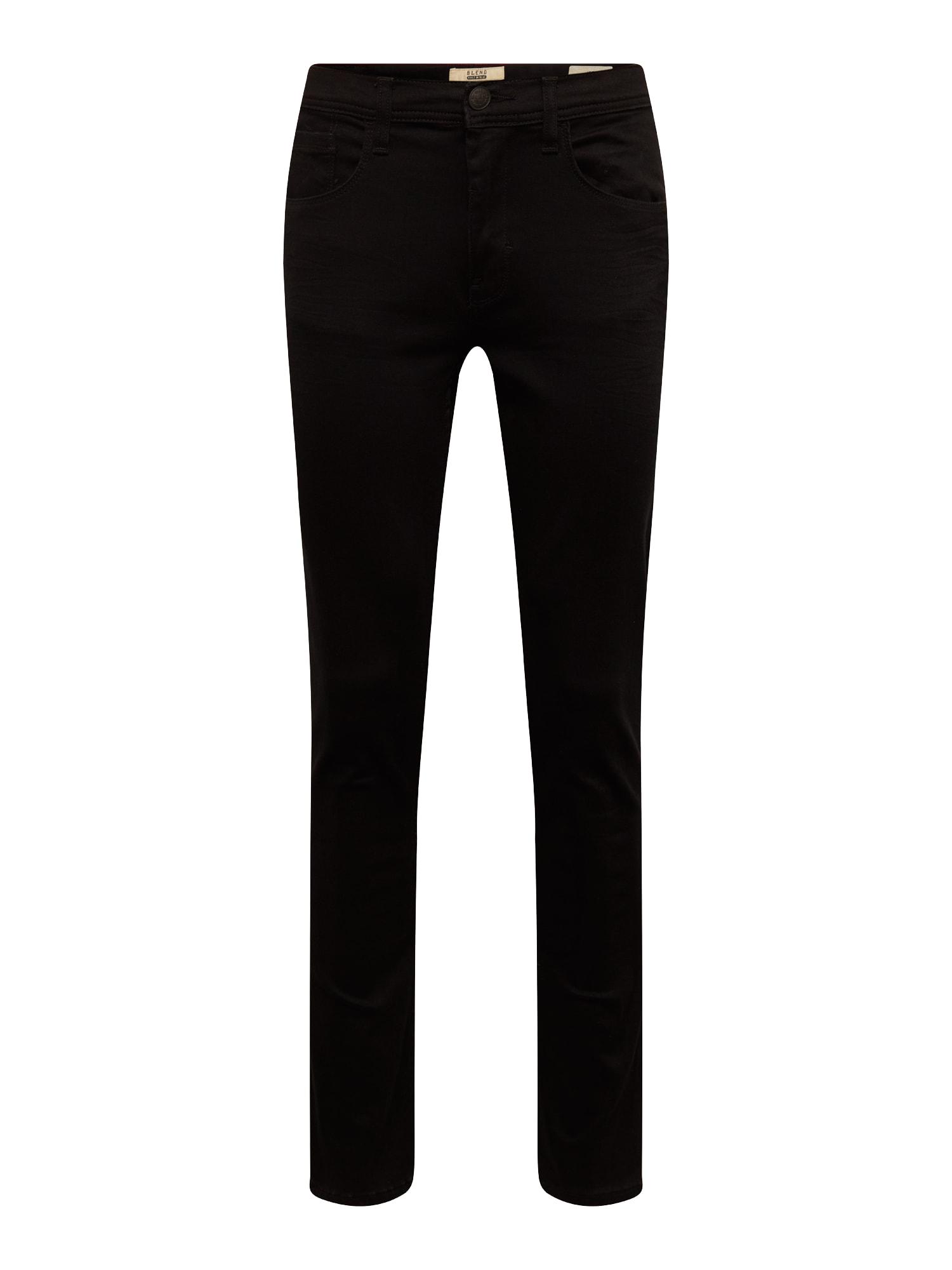 BLEND Džinsai juodo džinso spalva