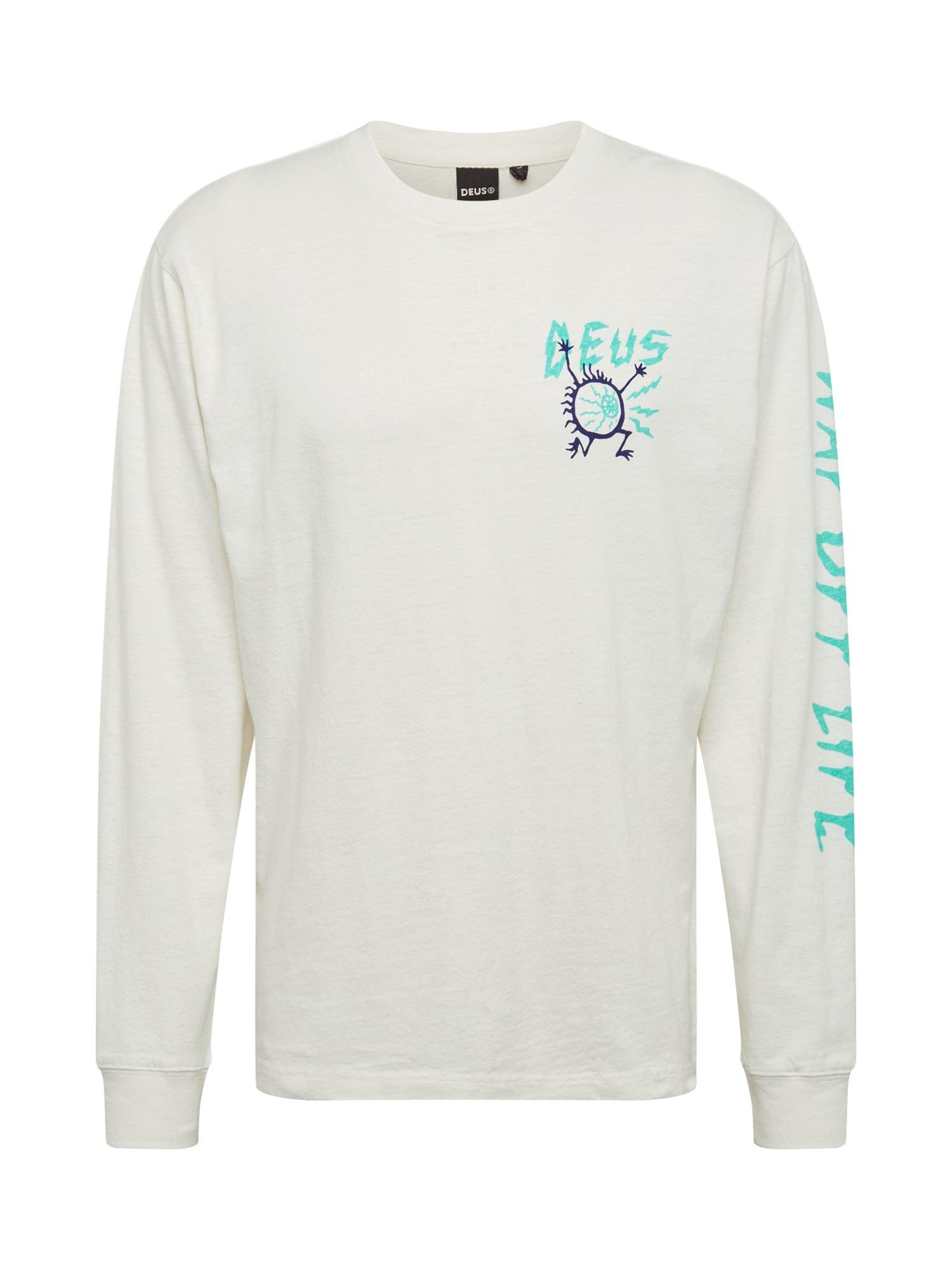 DEUS EX MACHINA Marškinėliai turkio spalva / balta